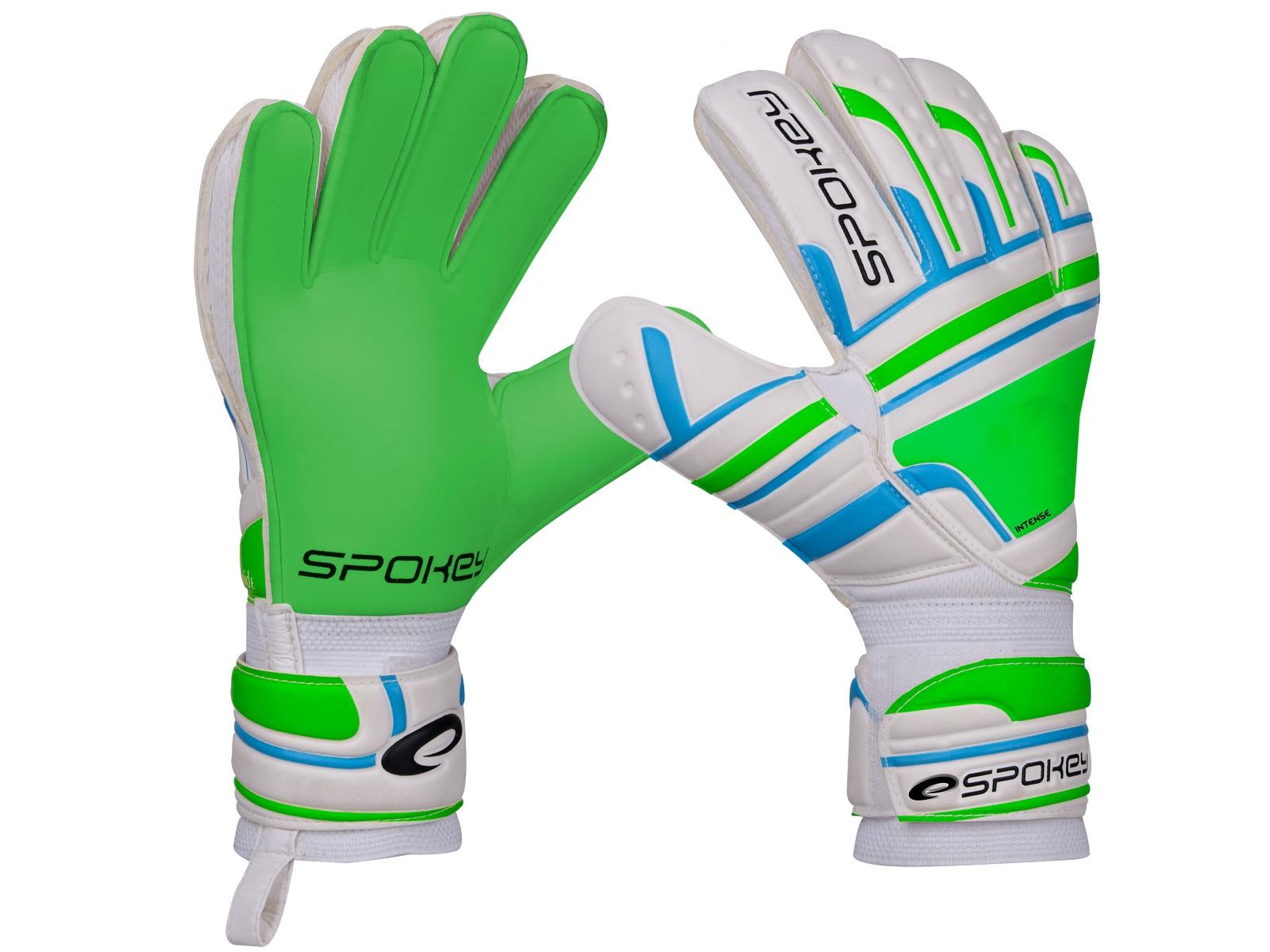 Brankářské rukavice SPOKEY Intense 4 zelené