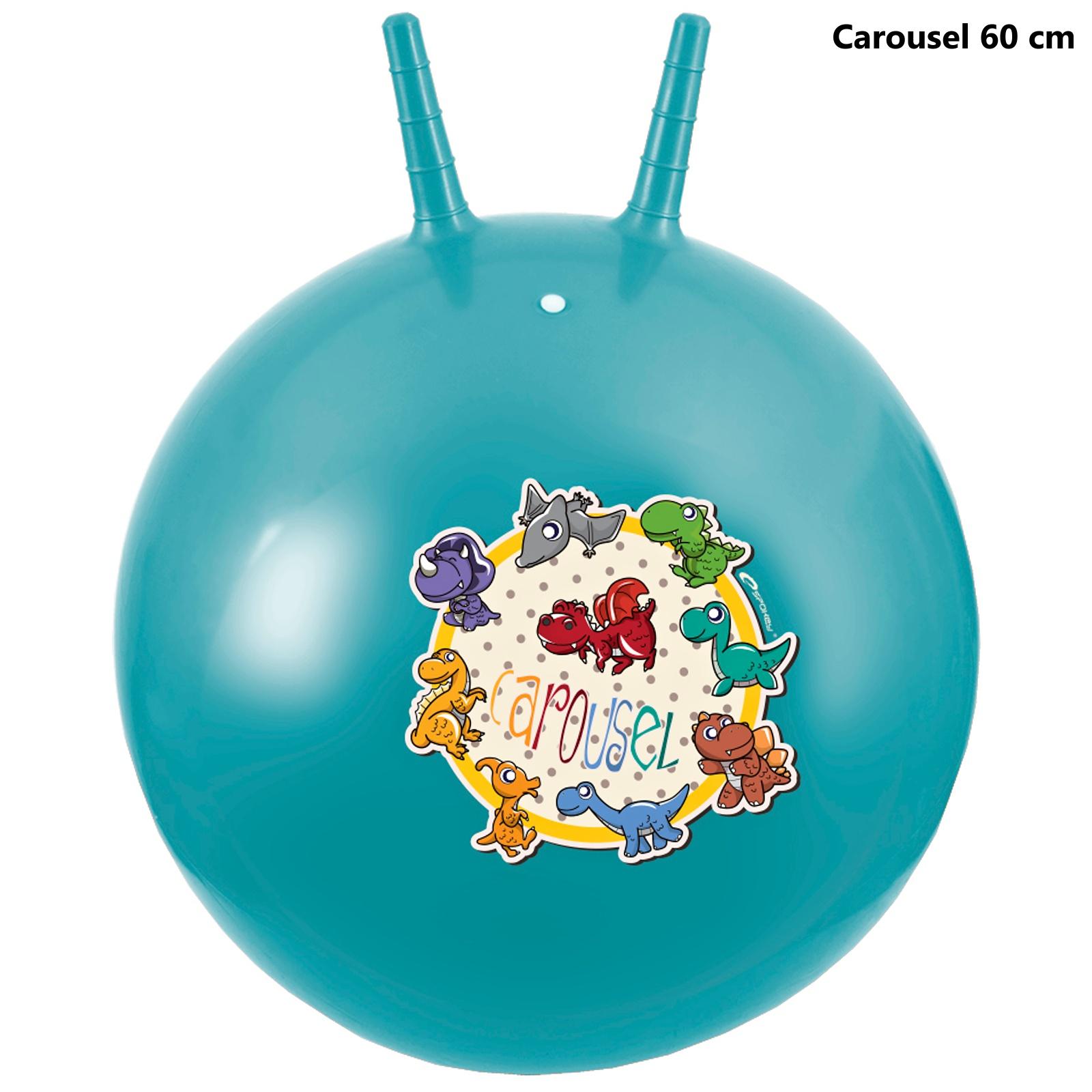 Skákací míč SPOKEY Carousel 60 cm