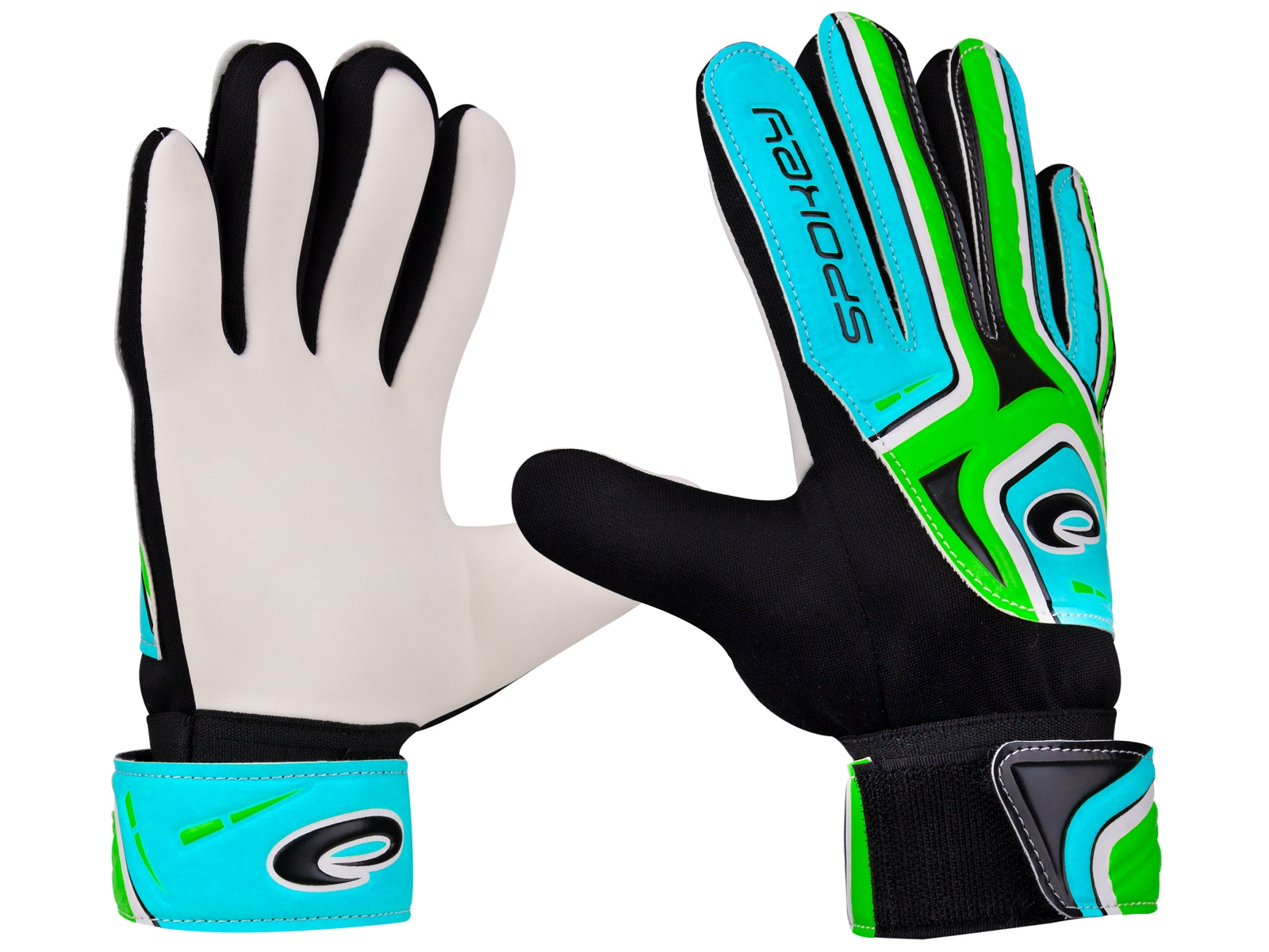 Brankářské rukavice SPOKEY Catch II 4 zelené