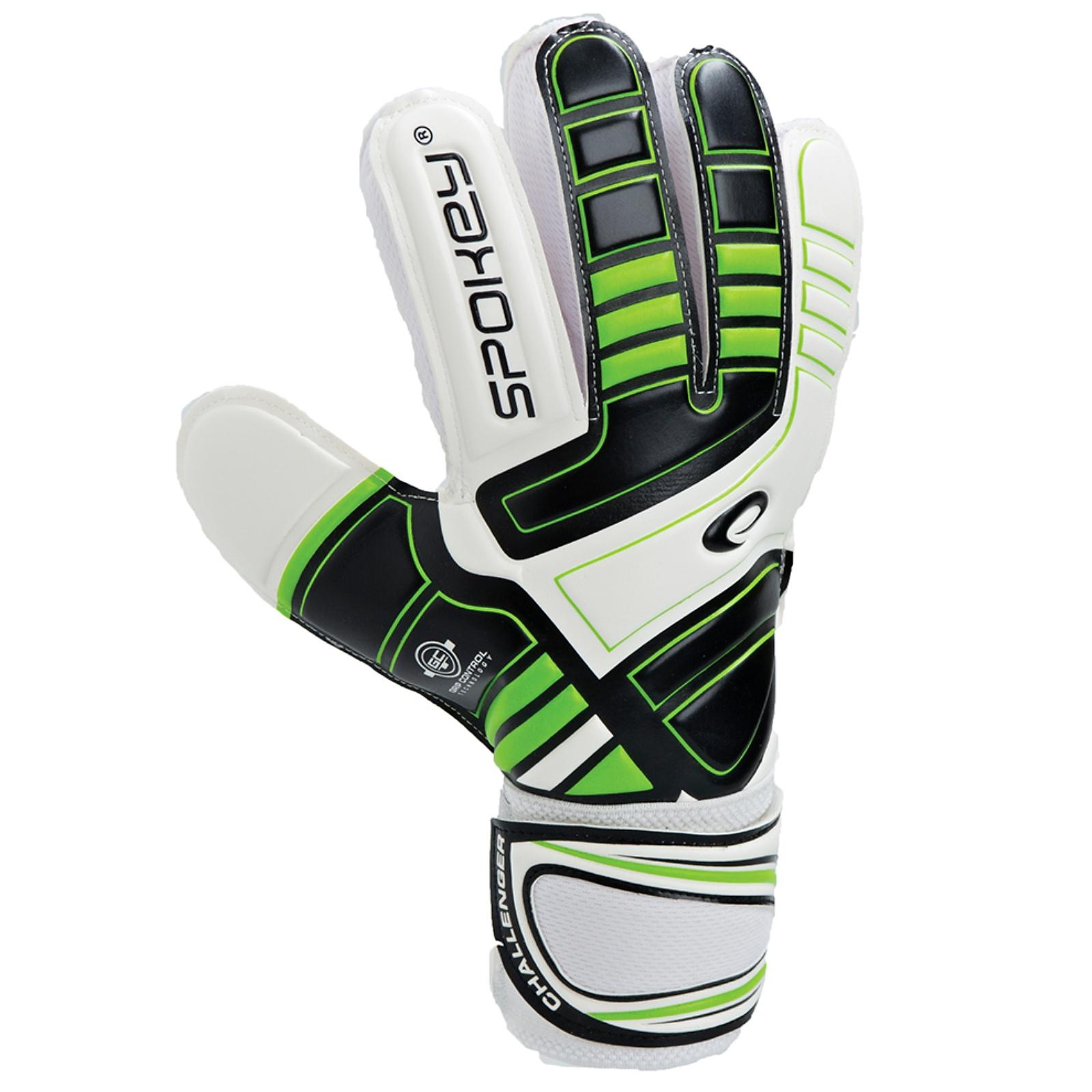 Brankářské rukavice SPOKEY Ego Challenger 6 zelené