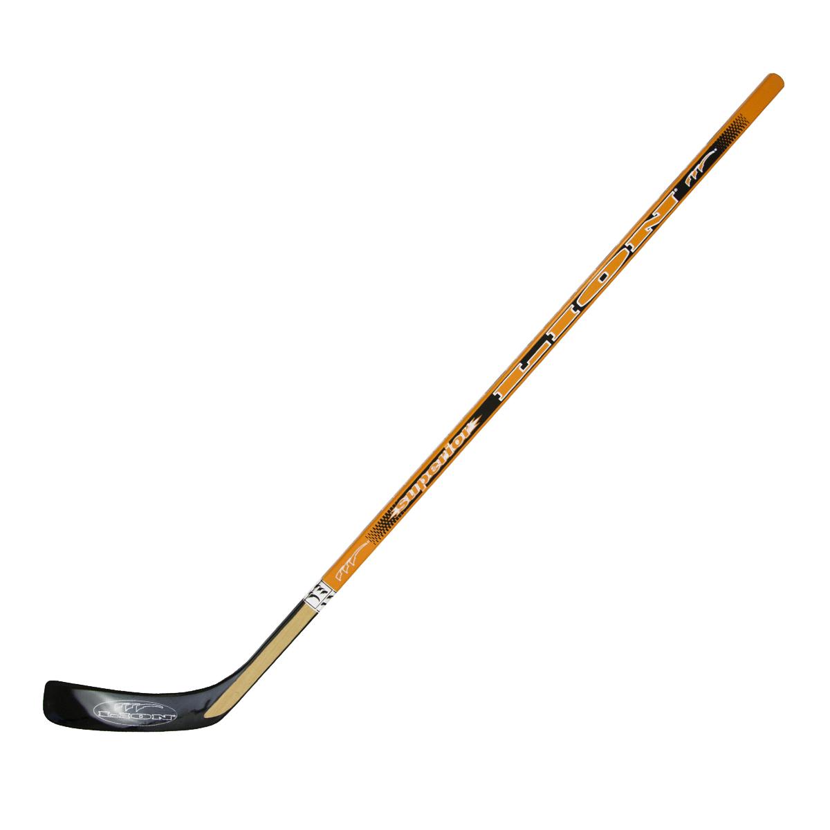 Hokejka LION 6644 - 135 cm levá - černá