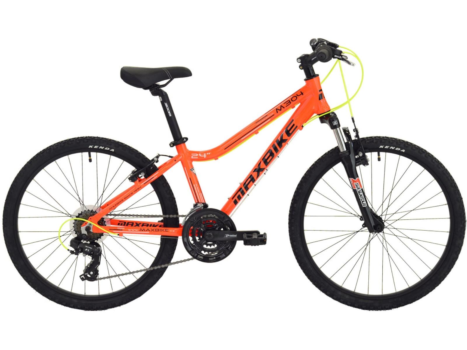 """Dětské kolo MAXBIKE Pindos 24"""" oranžové"""