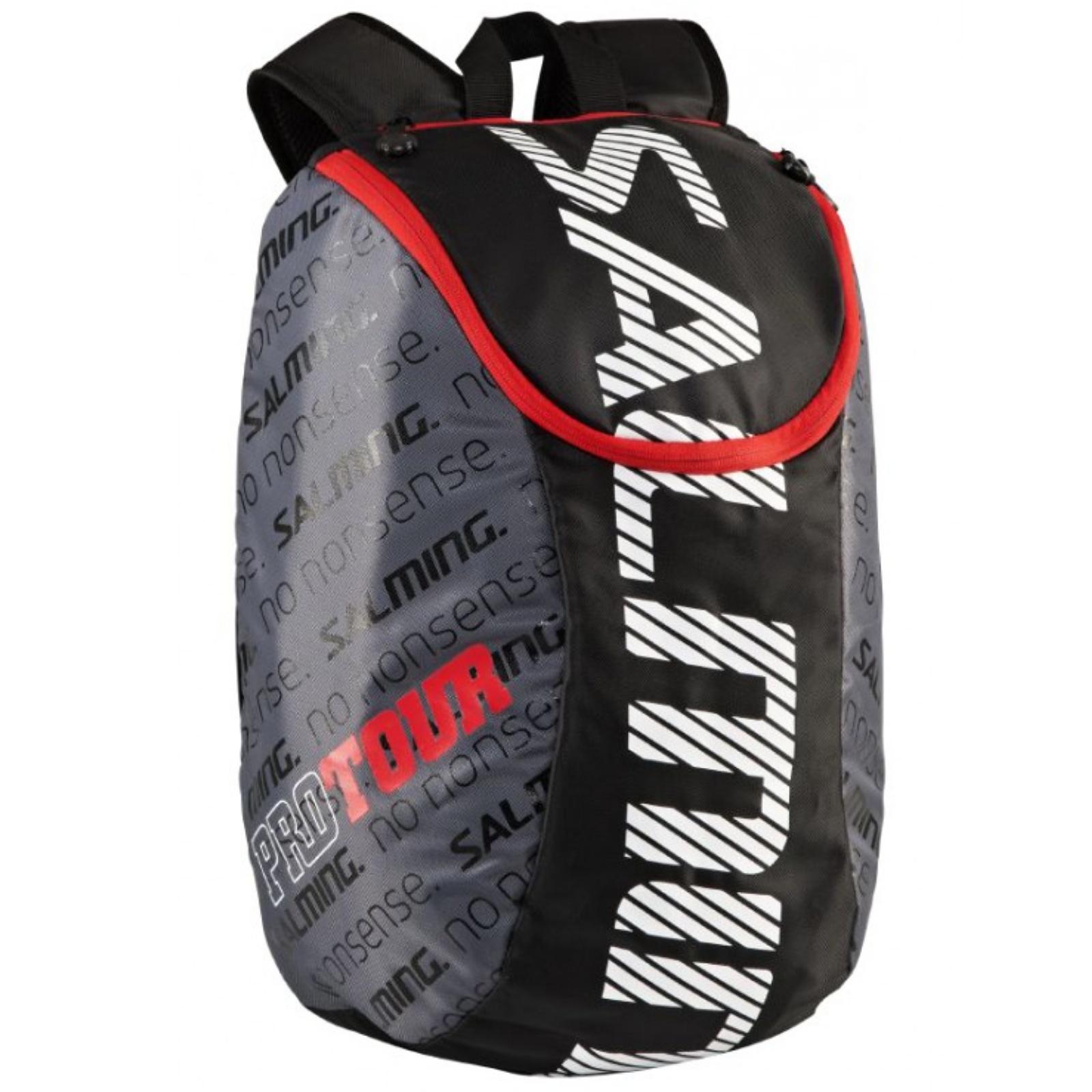 Sportovní batoh SALMING Pro Tour Backpack černá/červená, 18L