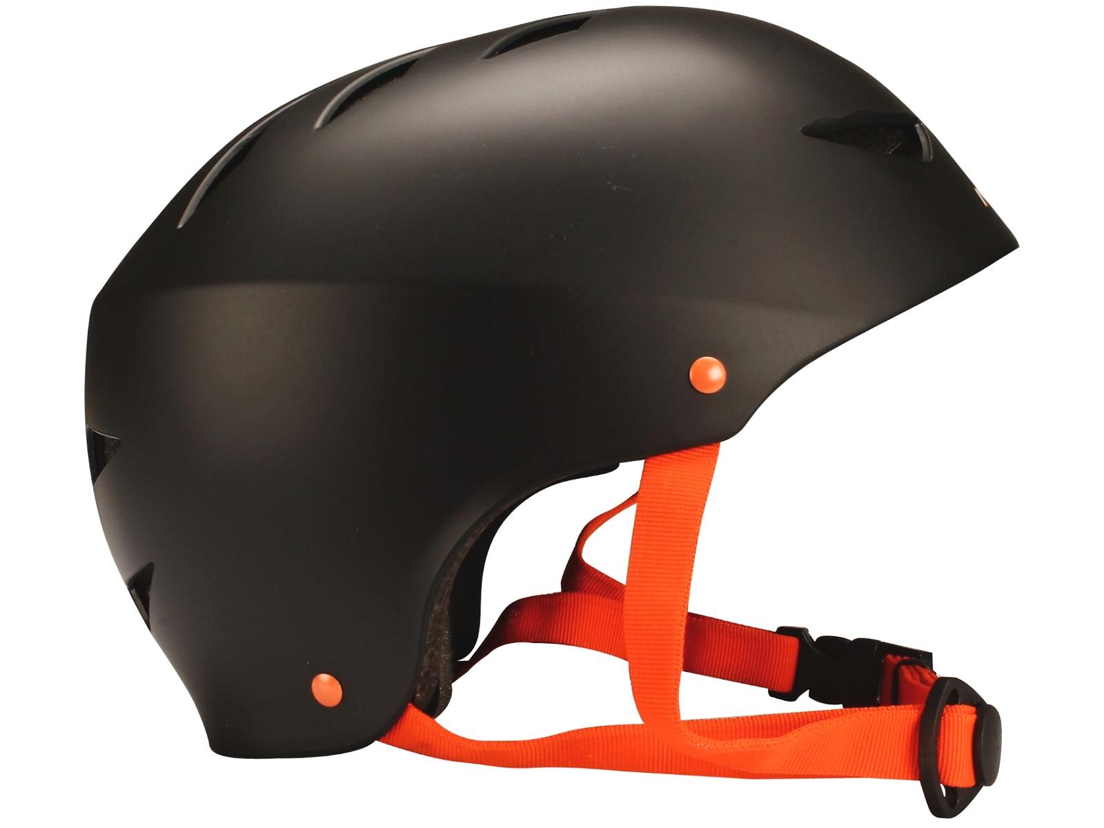 Helma na in-line NIJDAM Aggressive černá, vel. S