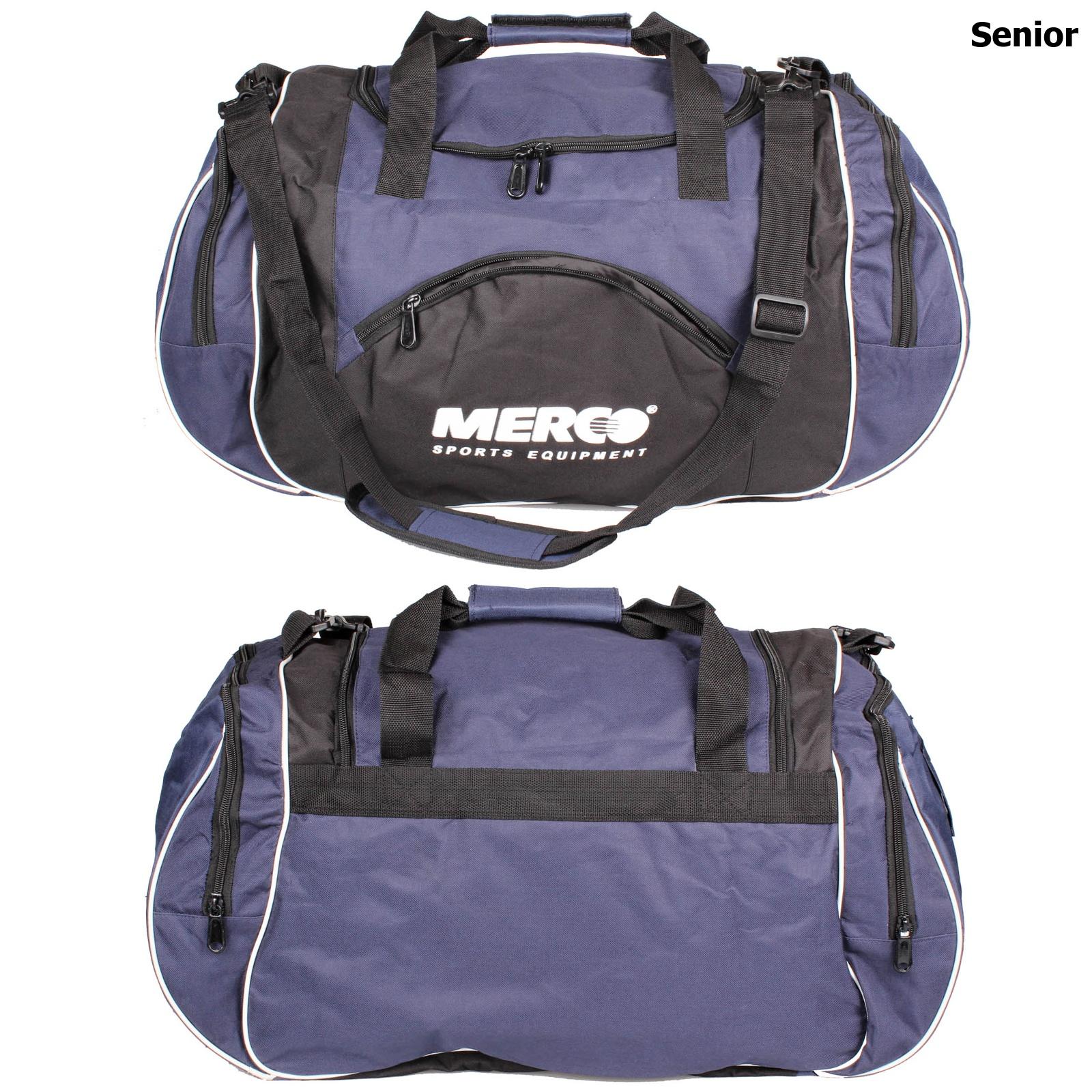 Sportovní taška MERCO 112 modrá senior