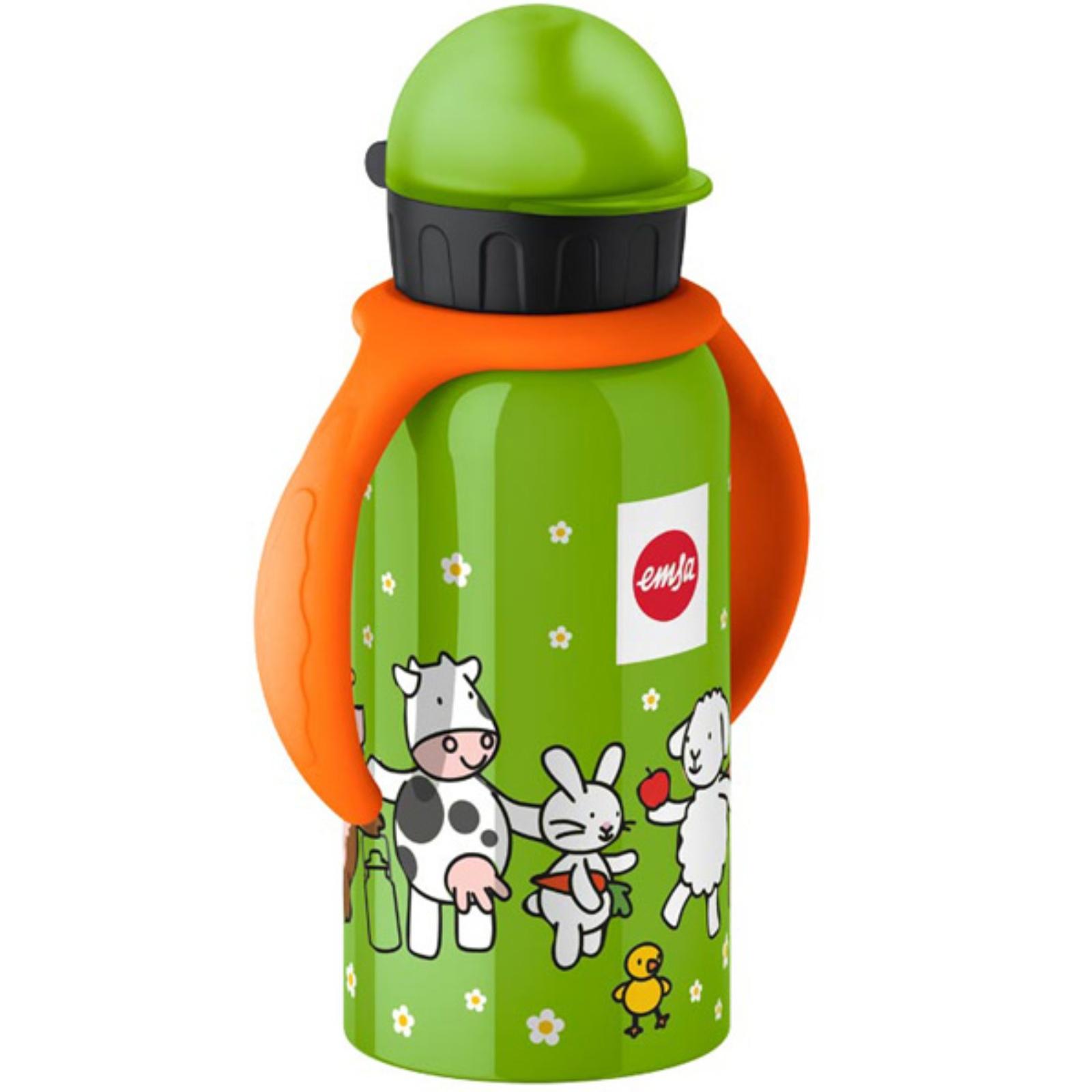 Dětská láhev EMSA farma 0,4 l