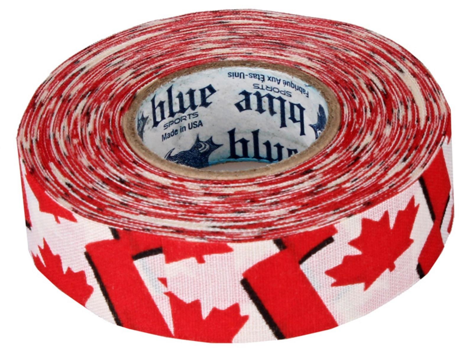 Hokejová páska BLUE Sport 18 m x 2,4 cm, netrhací - Canada