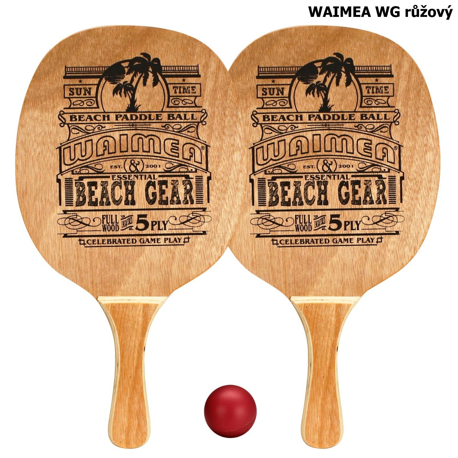 Plážový tenis WAIMEA WG - růžový