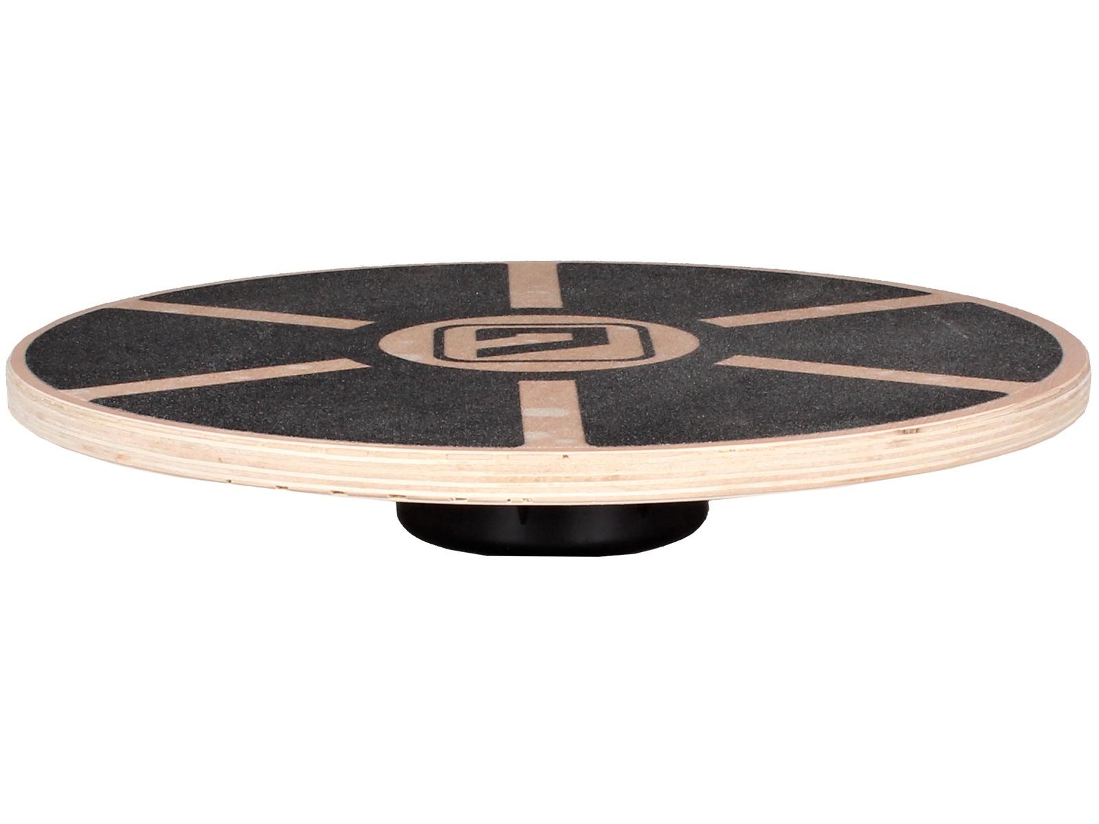 Balanční deska LIVEUP LS3150 120 kg černá, dřevěná
