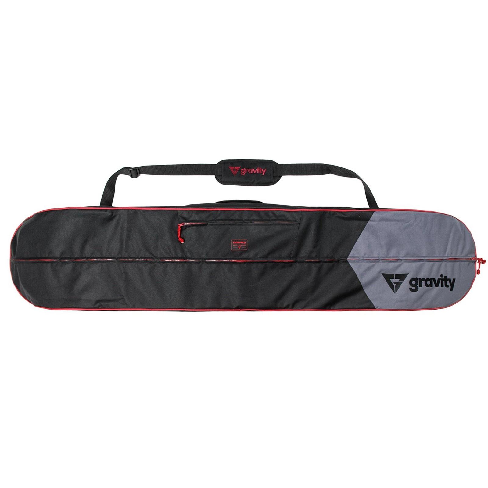 Obal na snowboard GRAVITY Icon černo-červený - vel. 165 cm
