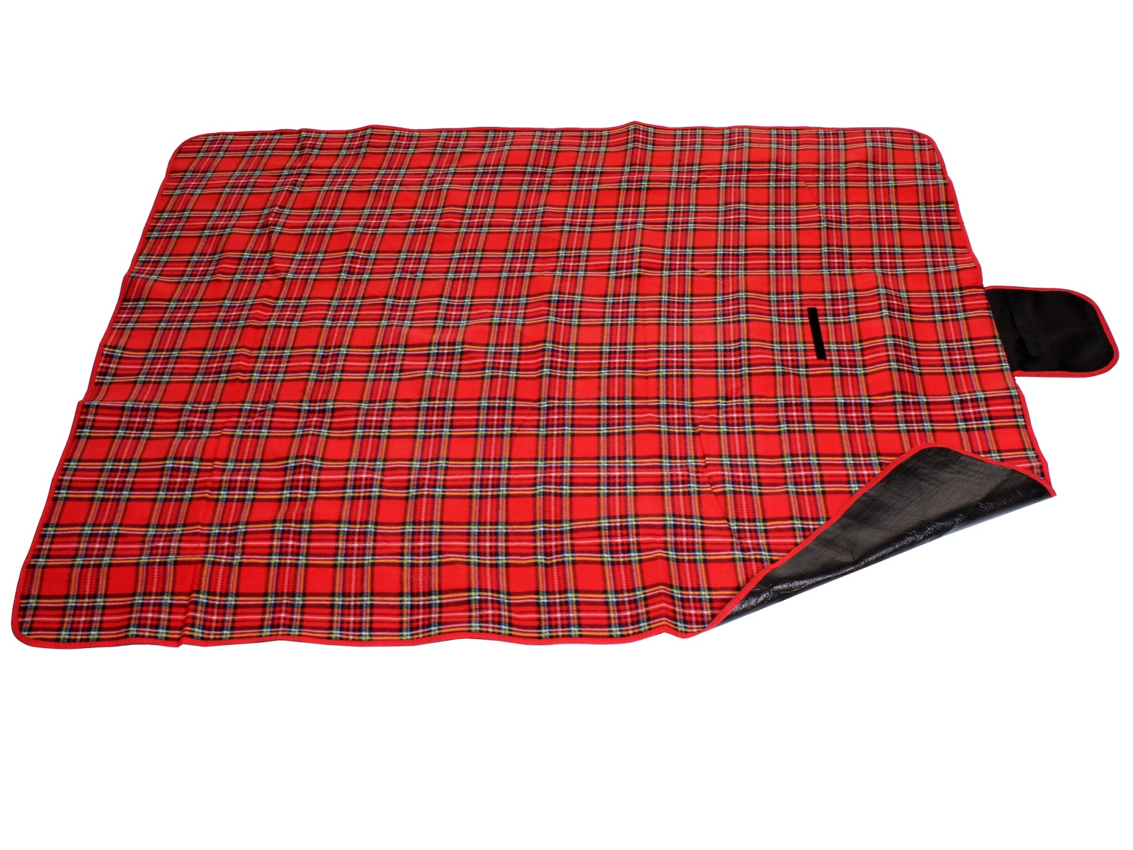 Piknik deka Hike - červená, skládací