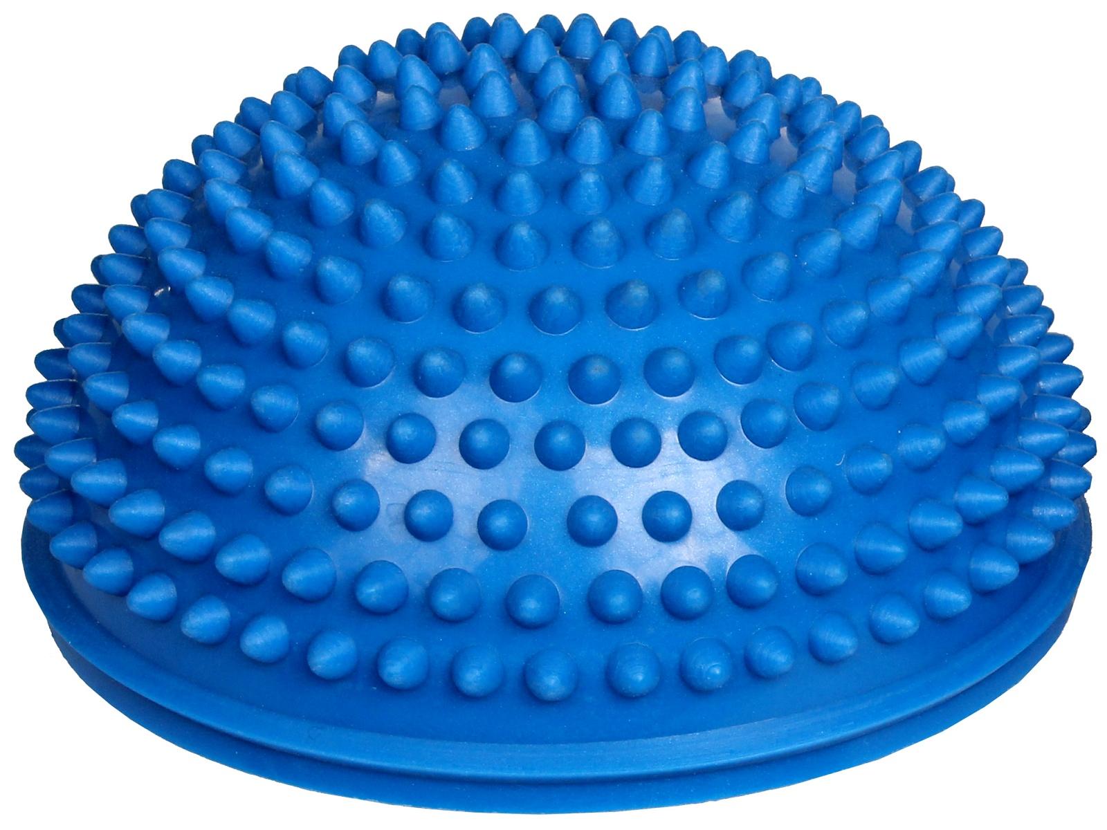 Balanční podložka masážní, 16 cm - modrá