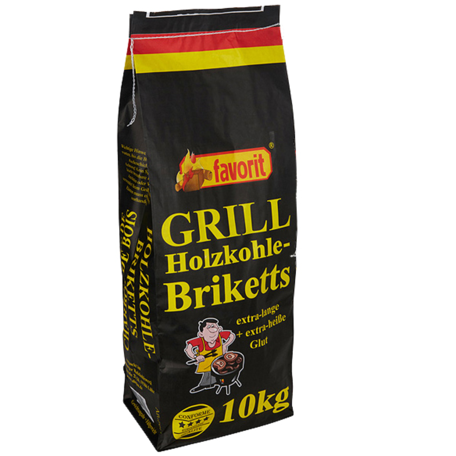 Grilovací brikety FAVORIT 10 kg