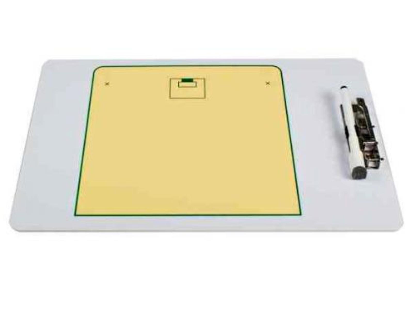 Florbalová trenérská tabule, velikost A4