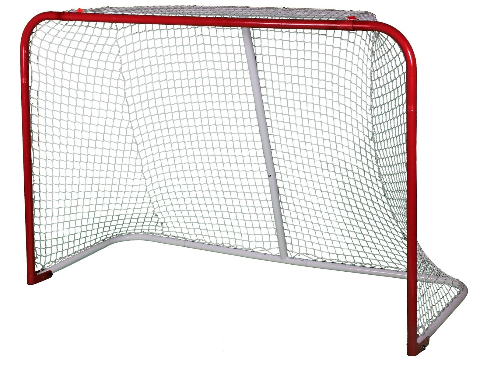 Síť na hokejovou branku Goal bílá, 4 mm