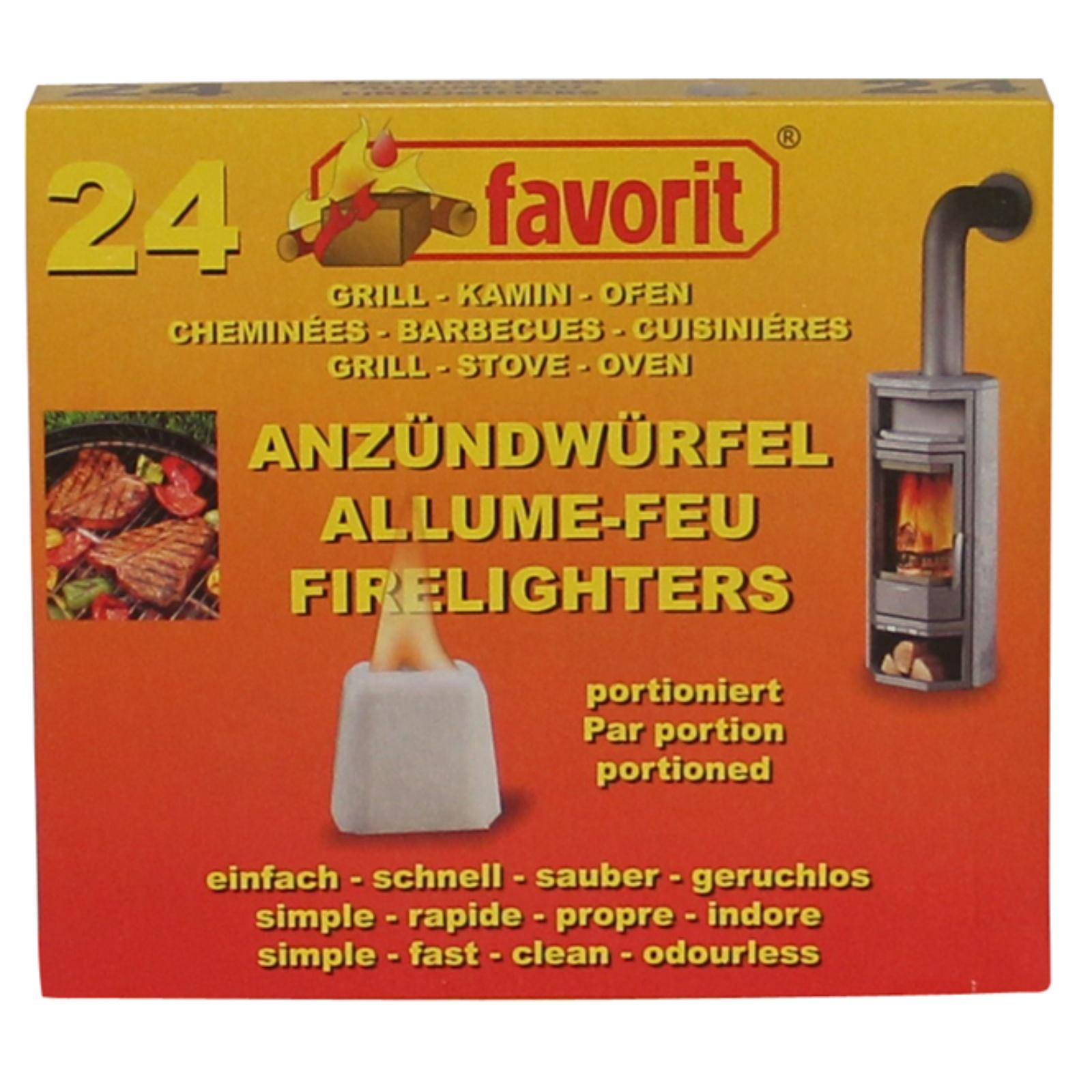 Pevný podpalovač FAVORIT 24 ks