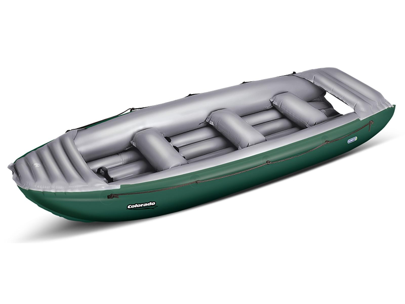 Nafukovací člun GUMOTEX Colorado 450 SET zeleno-šedý