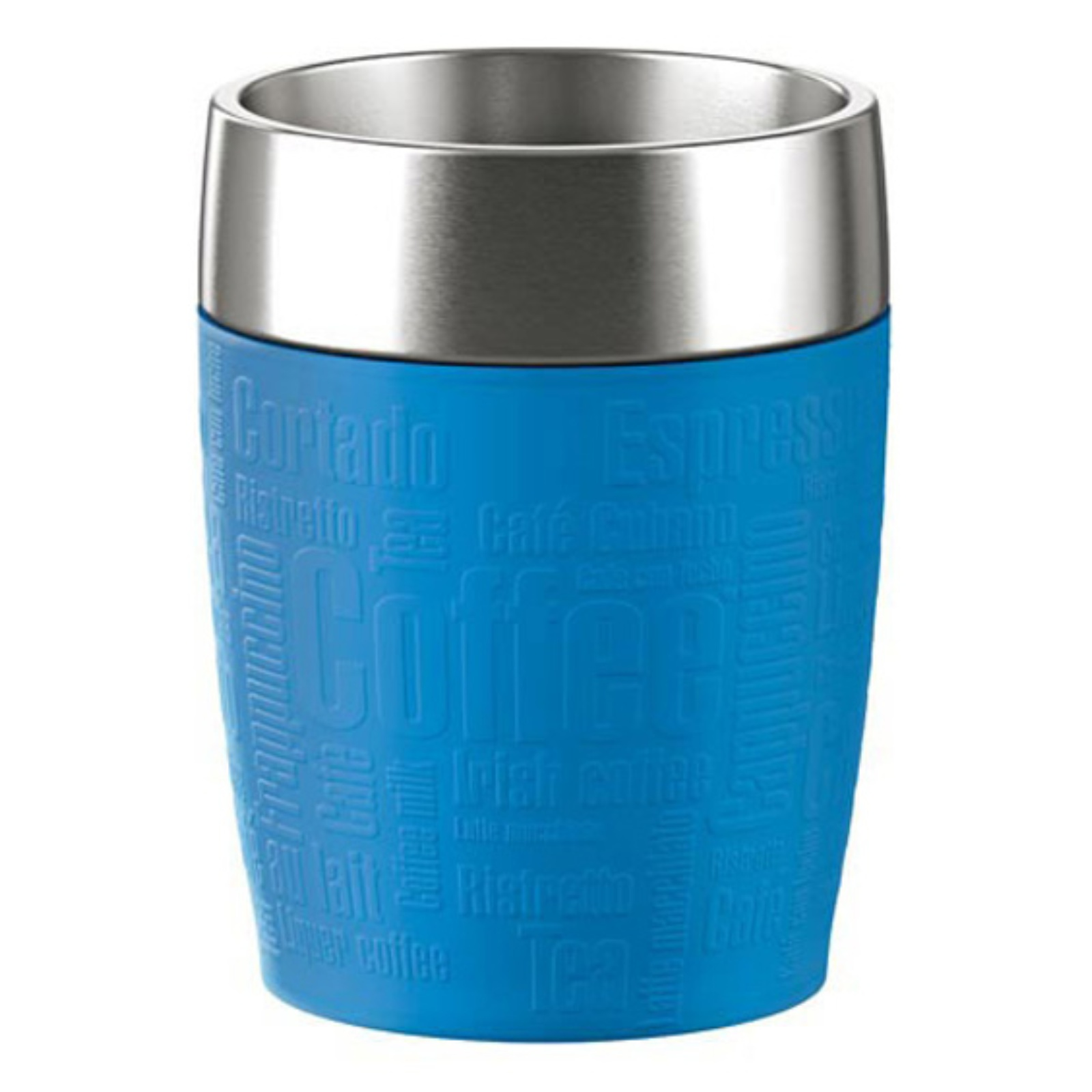 Termohrnek EMSA Travel Cup 0,2 l - modrý