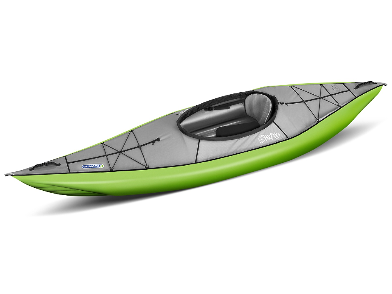 Nafukovací kajak GUMOTEX Swing 1 zeleno-šedý