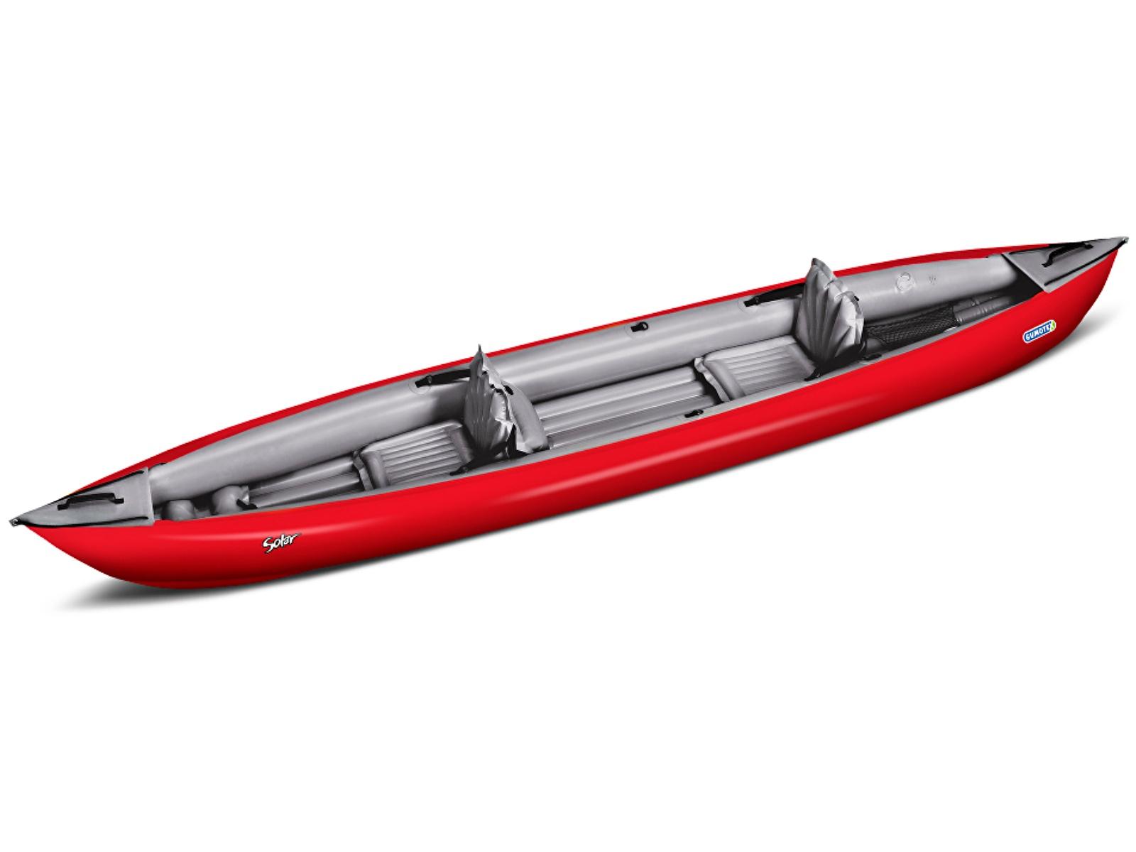 Nafukovací kajak GUMOTEX Solar 410 C červeno-šedý