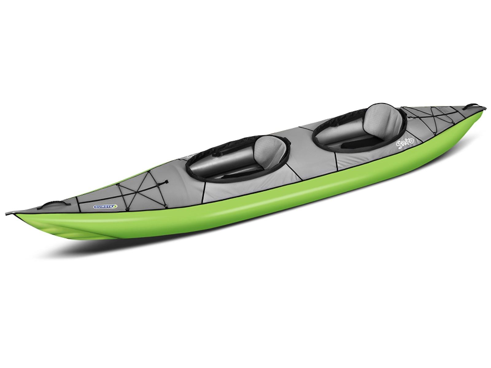 Nafukovací kajak GUMOTEX Swing 2 zeleno-šedý
