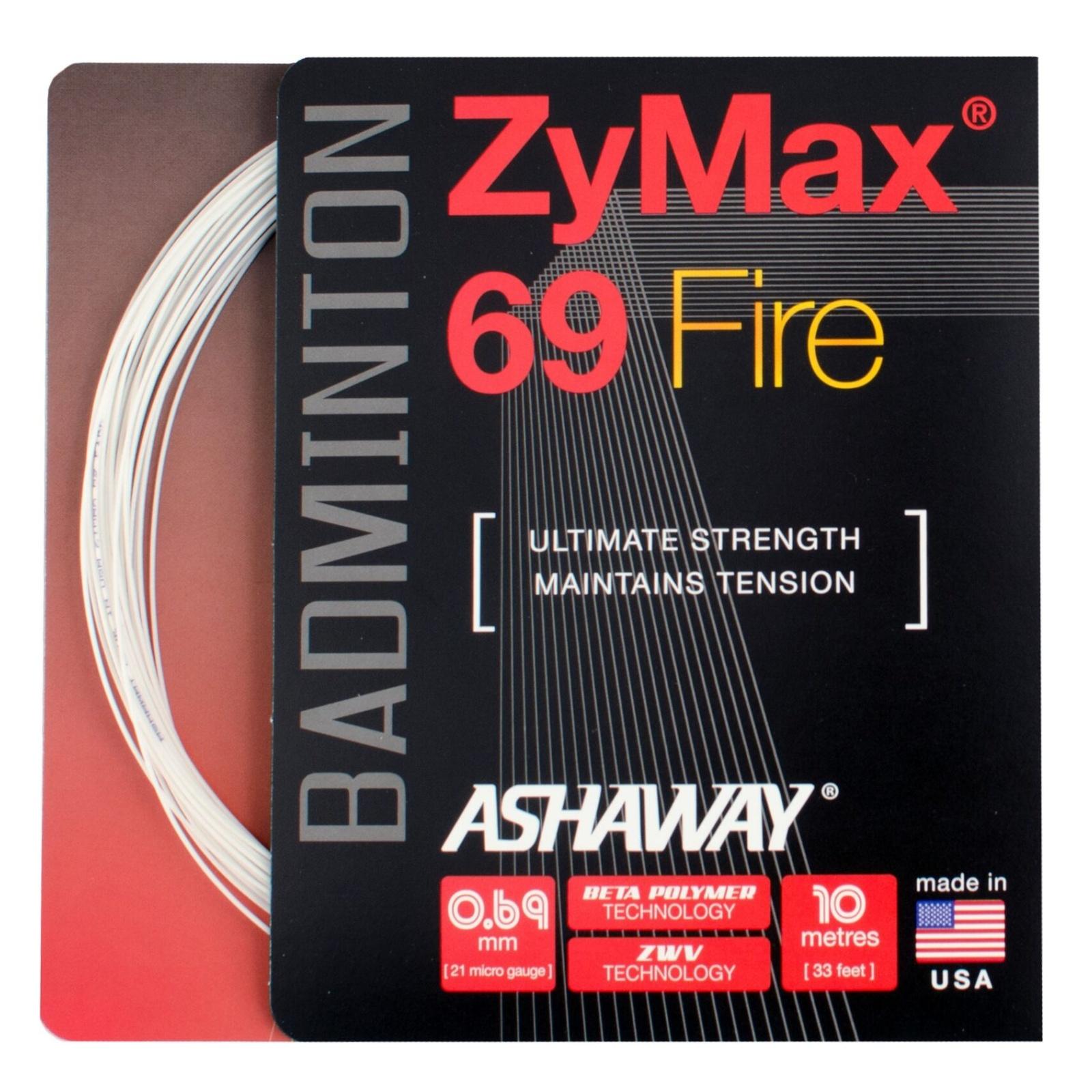 Badmintonový výplet ASHAWAY ZyMax 69 fire - set