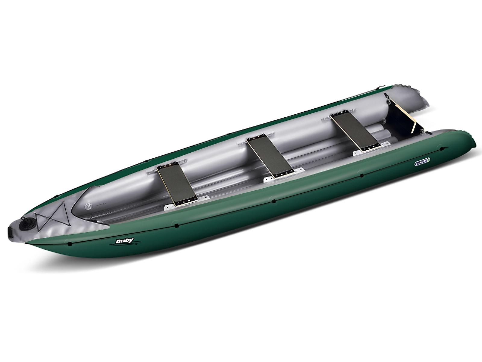 Nafukovací kanoe GUMOTEX Ruby zeleno-šedá