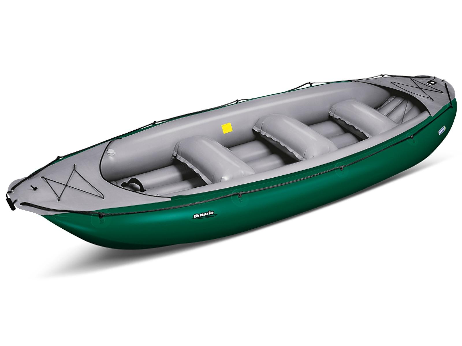 Nafukovací raft GUMOTEX Ontario 450 S zeleno-šedý