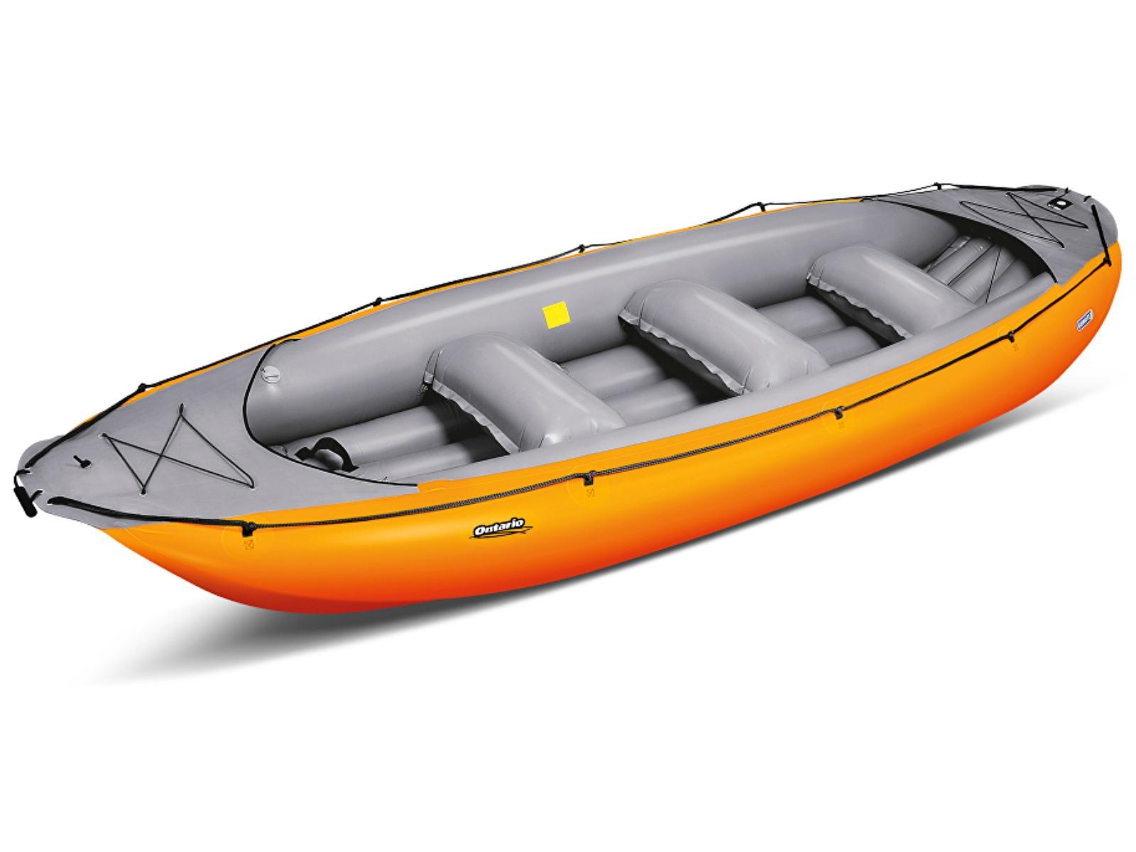 Nafukovací raft GUMOTEX Ontario 450 S oranžovo-šedý