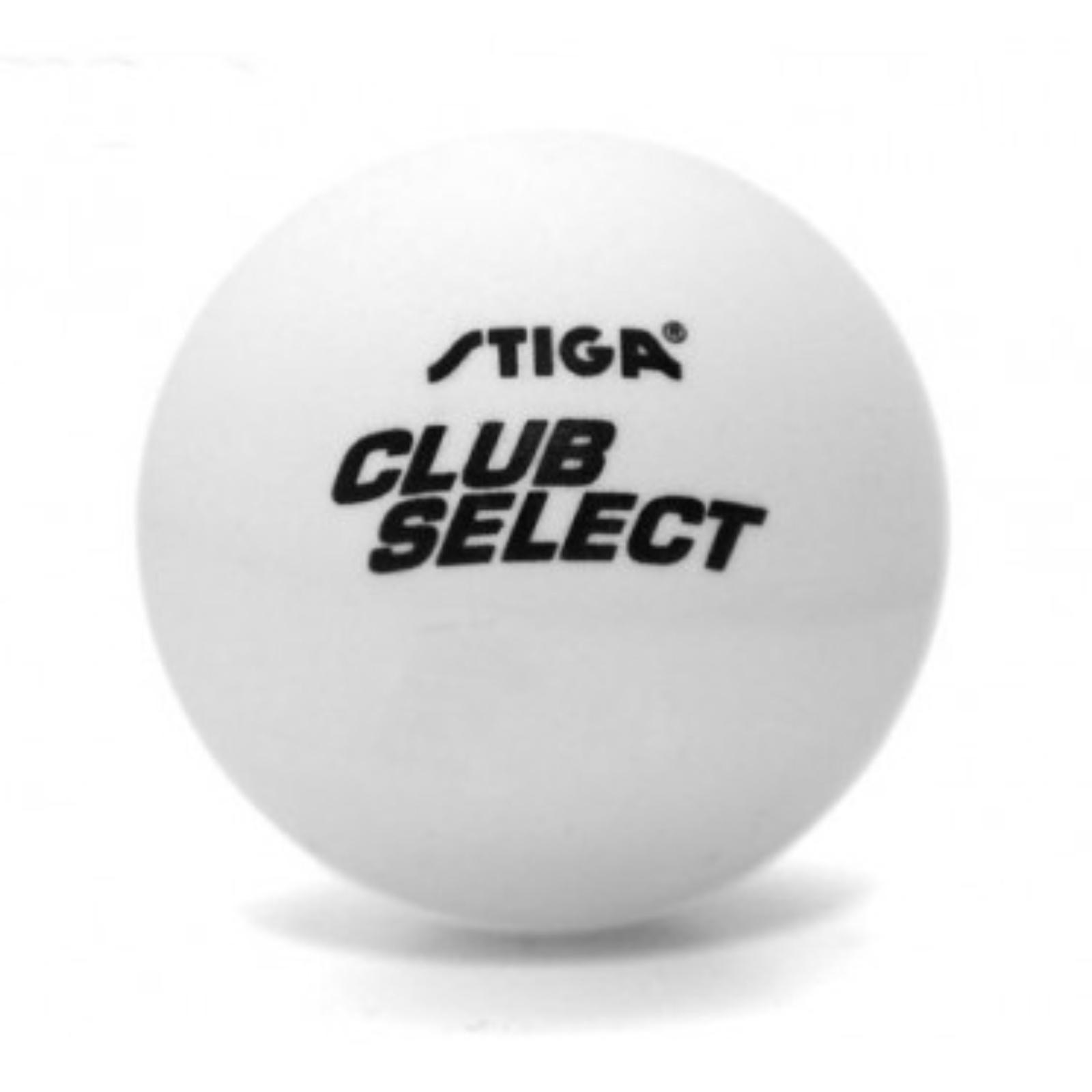 Míčky na stolní tenis STIGA Club Select - bílé