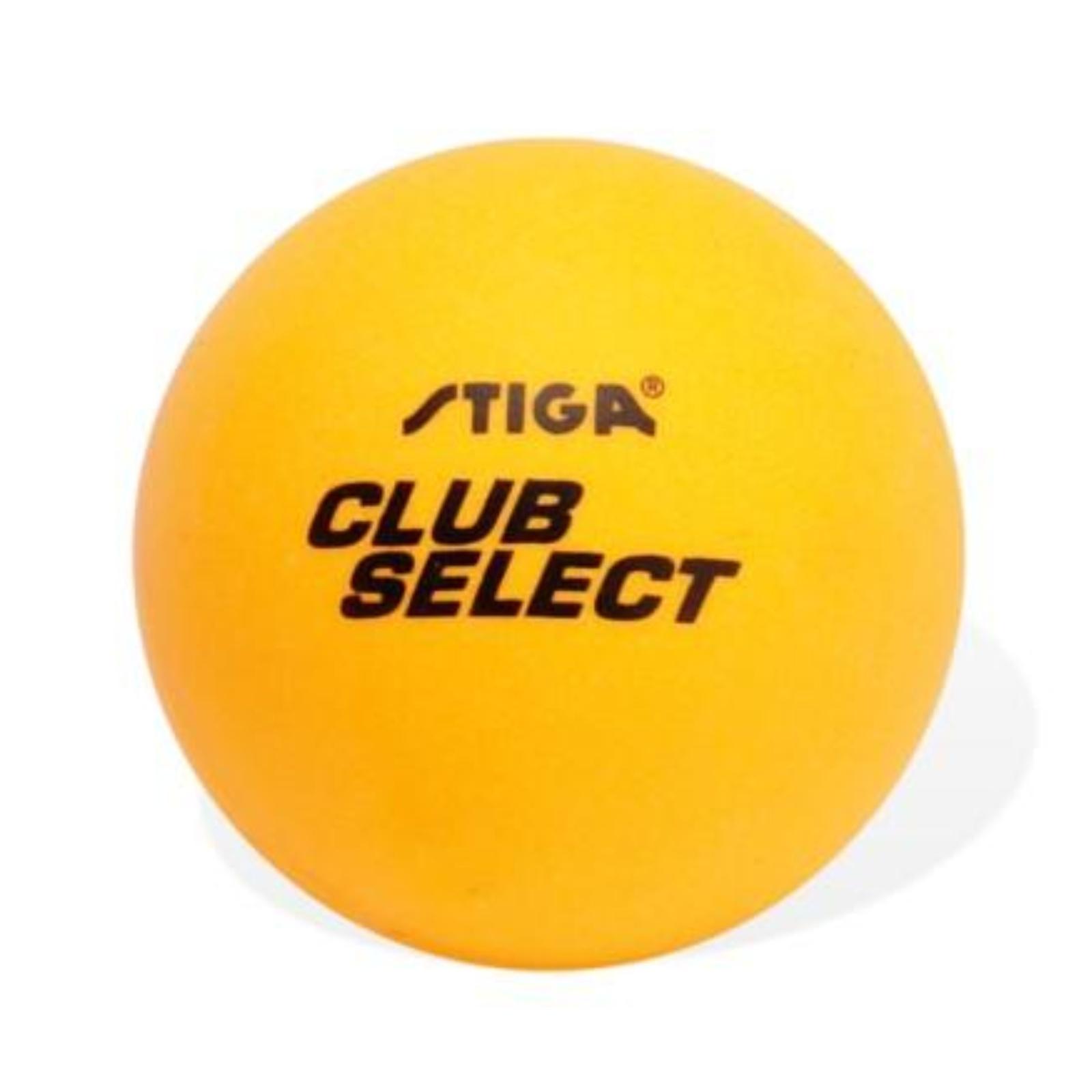Míčky na stolní tenis STIGA Club Select - oranžové