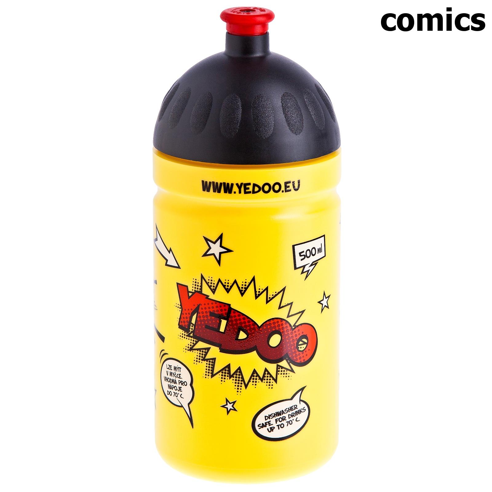 Cyklo láhev YEDOO 0,5l comics