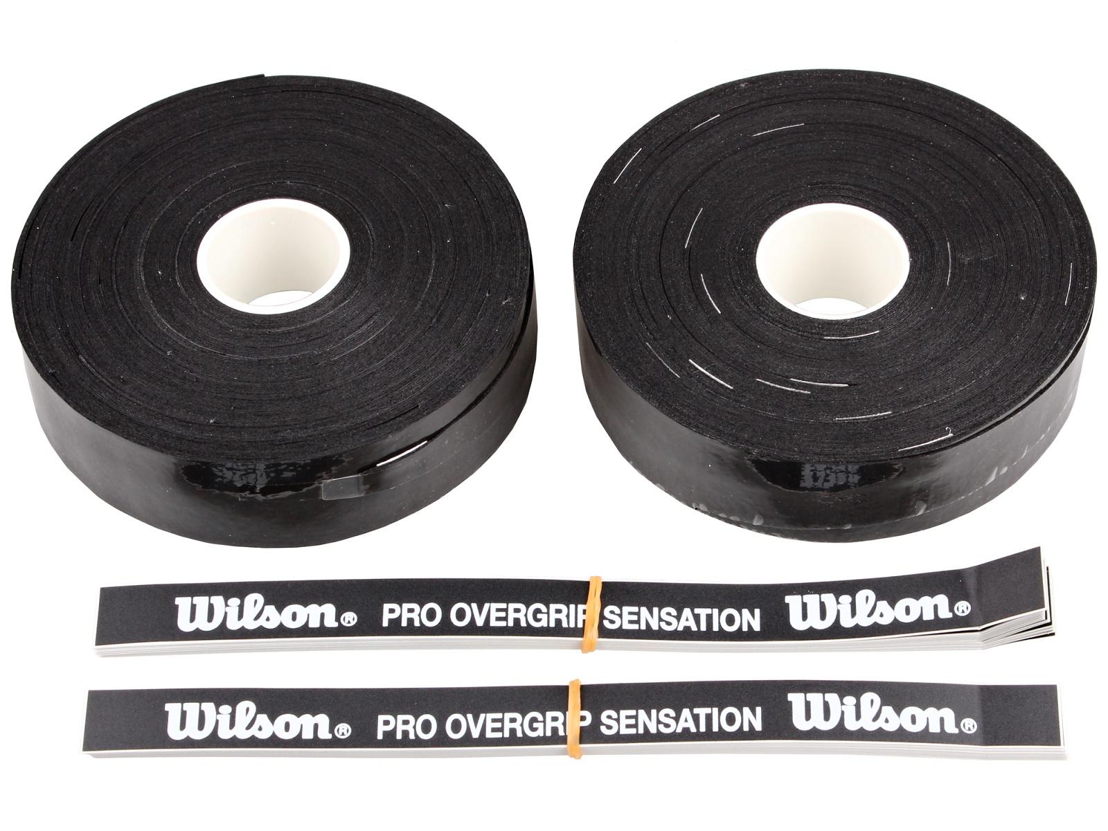 Squashová omotávka WILSON Pro Overgrip Sensation 30ks 0,4mm, blistr
