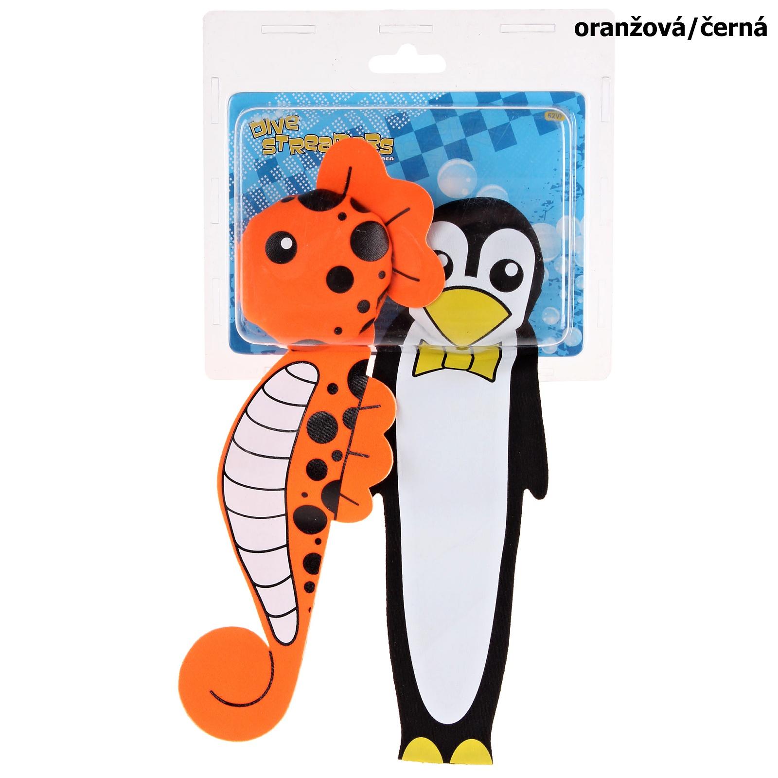 Potápěcí bomby WAIMEA Animal oranžová/černá, sada 2ks