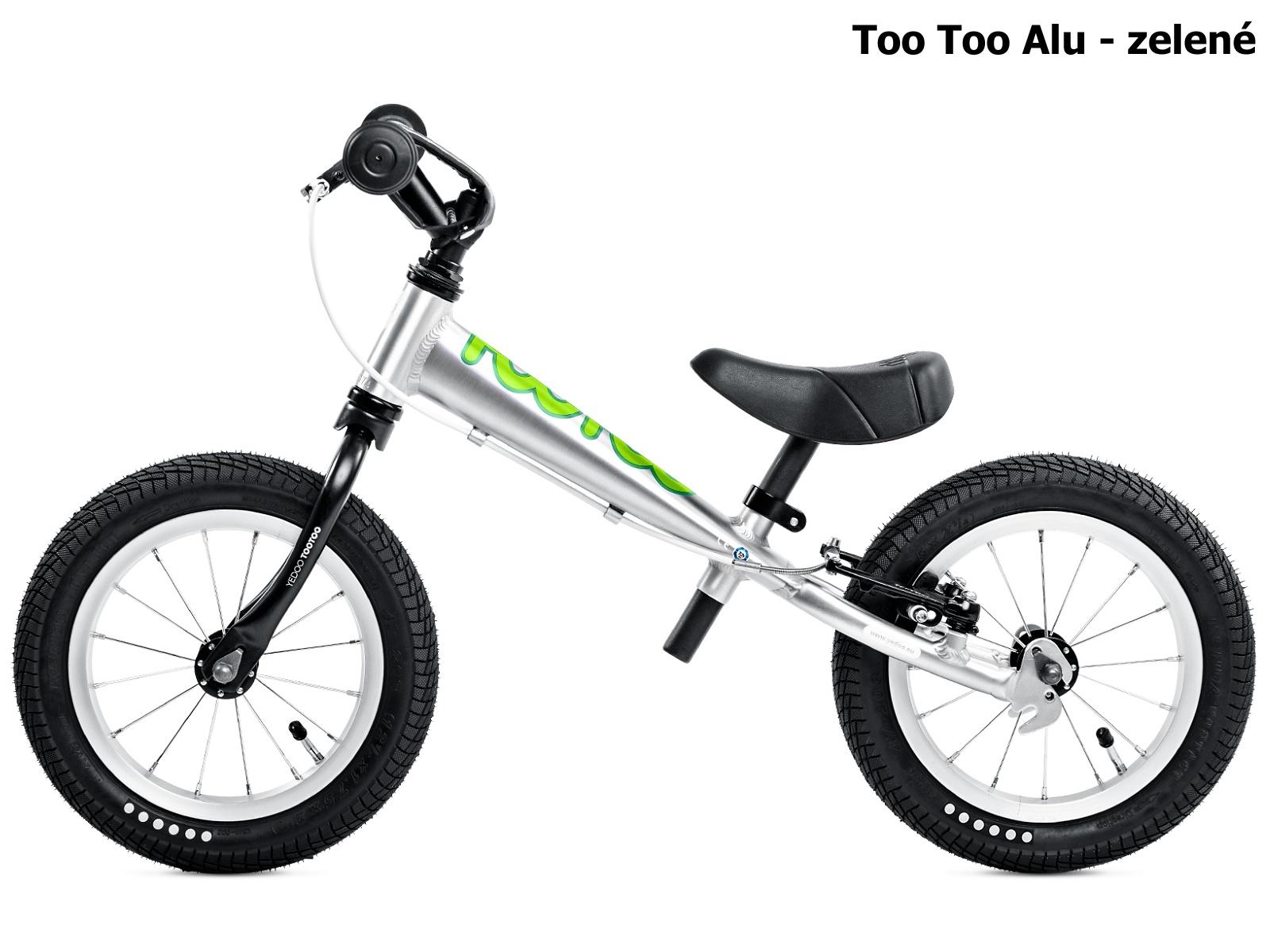 Dětské odrážedlo YEDOO Too Too Alu - zelené