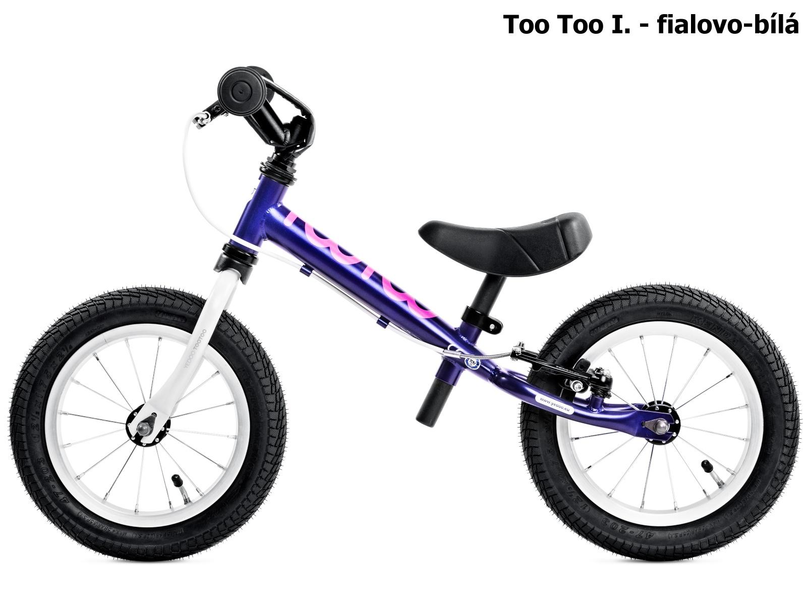 Dětské odrážedlo YEDOO Too Too I. - fialovo-bílé