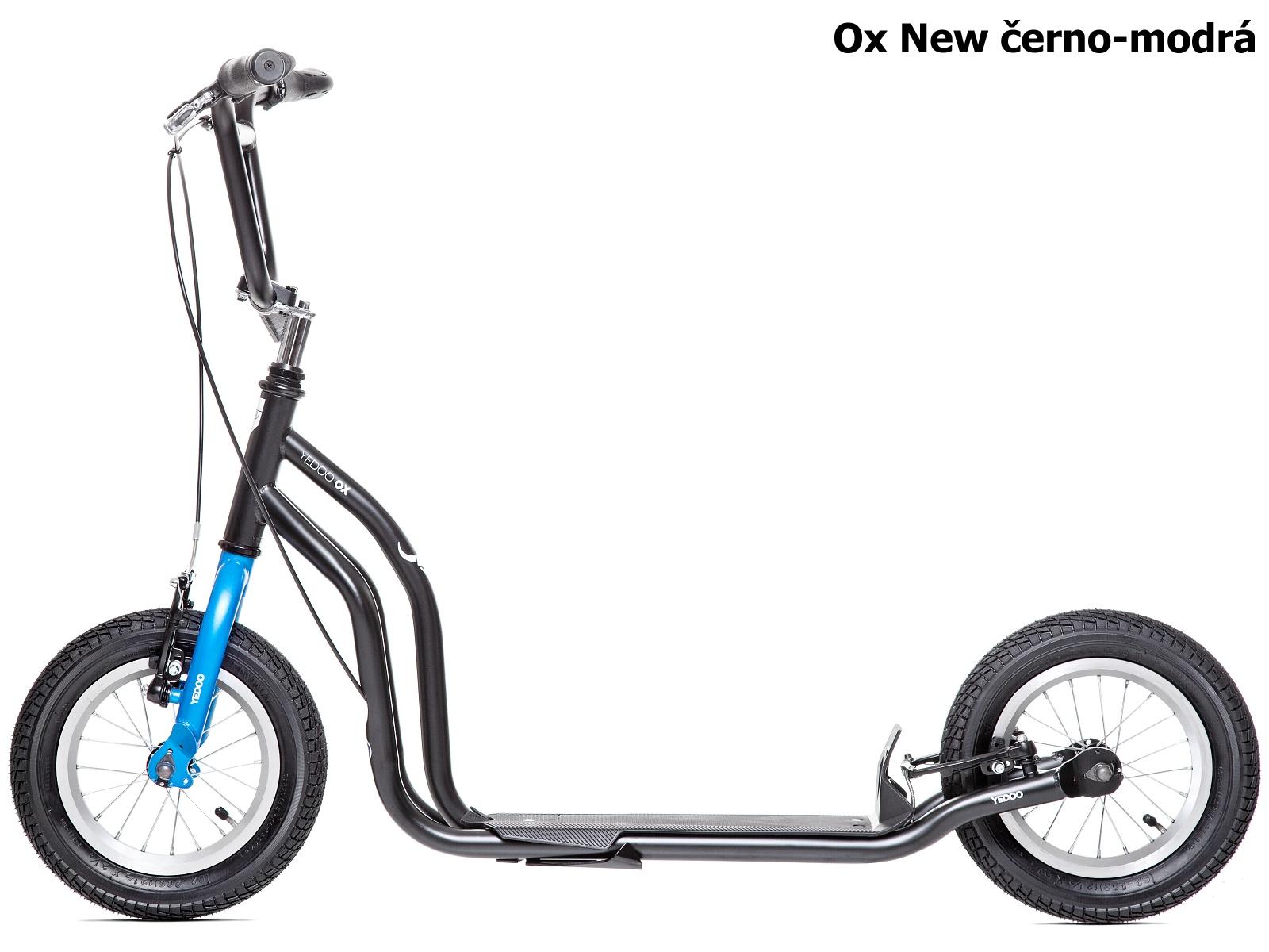 Koloběžka YEDOO Ox New 12-12 černo-modrá