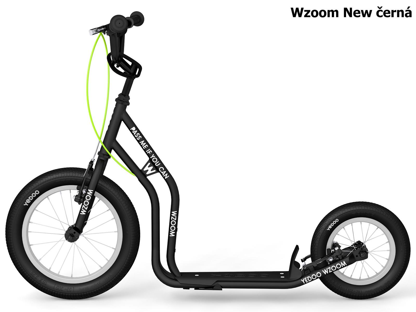 Koloběžka YEDOO Wzoom New 16-12 černá
