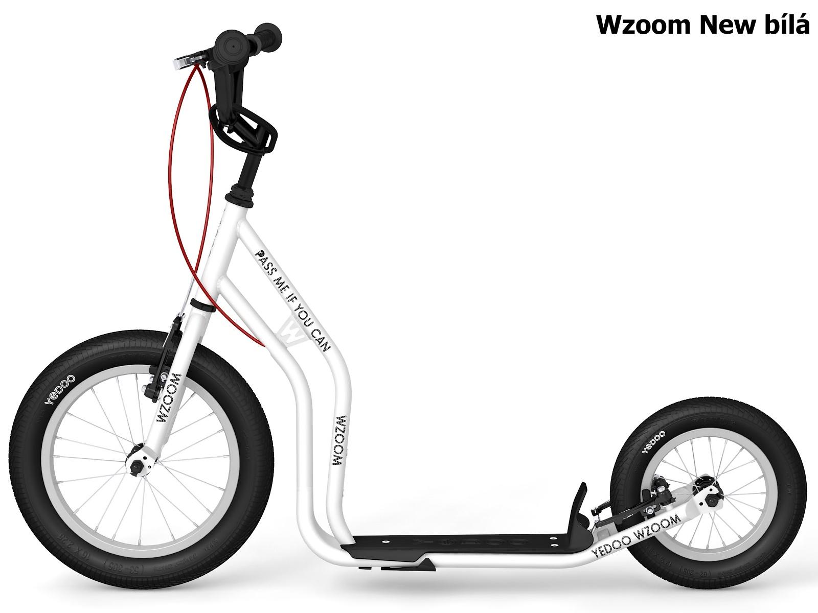 Koloběžka YEDOO Wzoom New 16-12 bílá