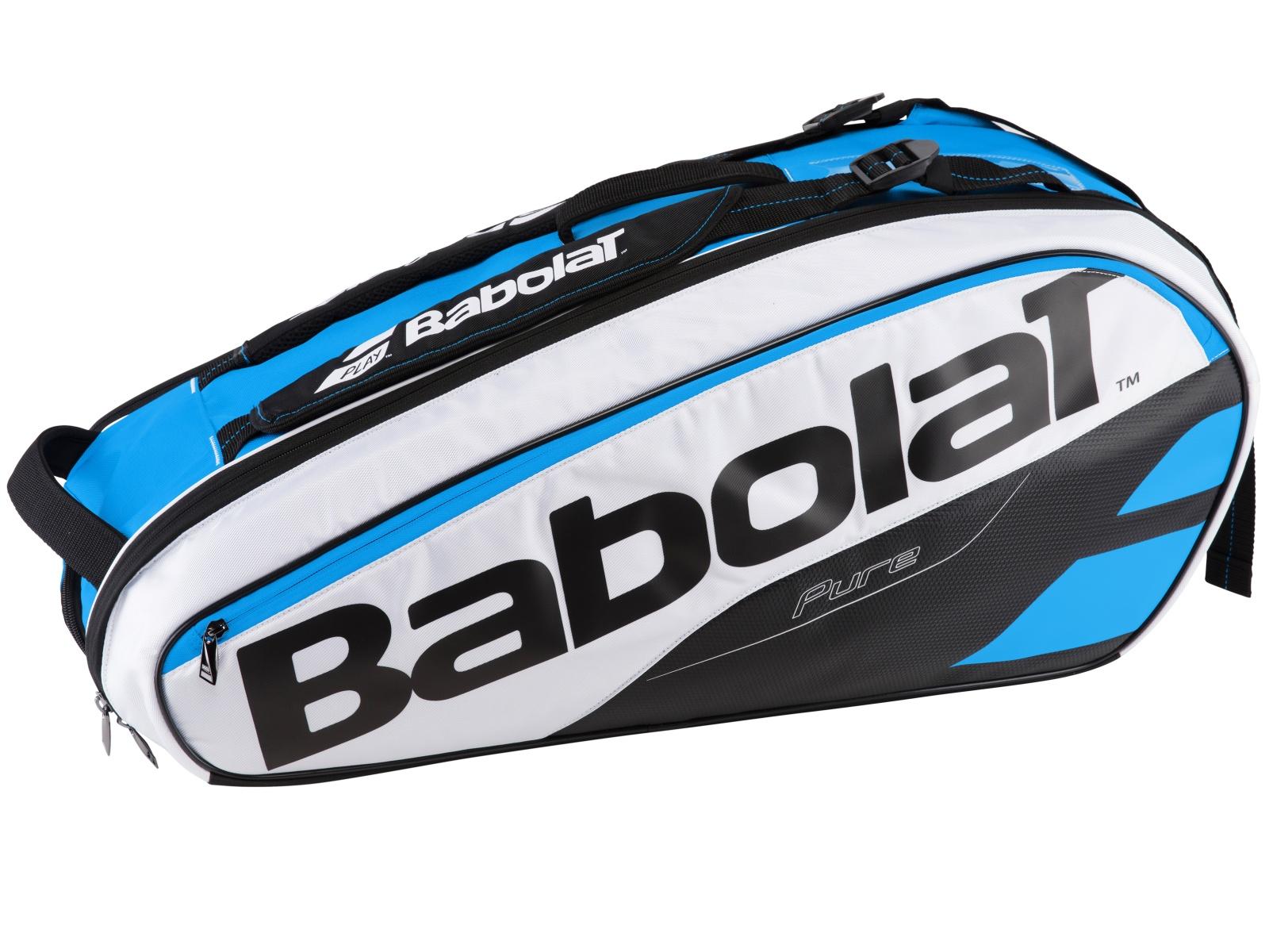 Tenisová taška BABOLAT Pure Line RH X6 modro-bílá
