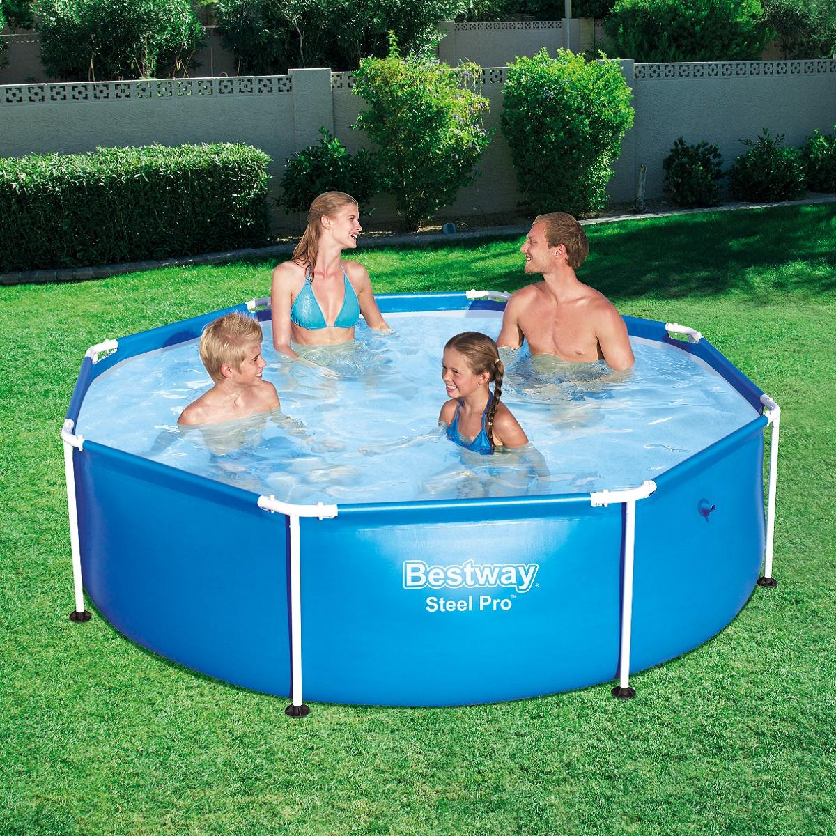 Bazén Steel Frame Pool 244 x 61 cm