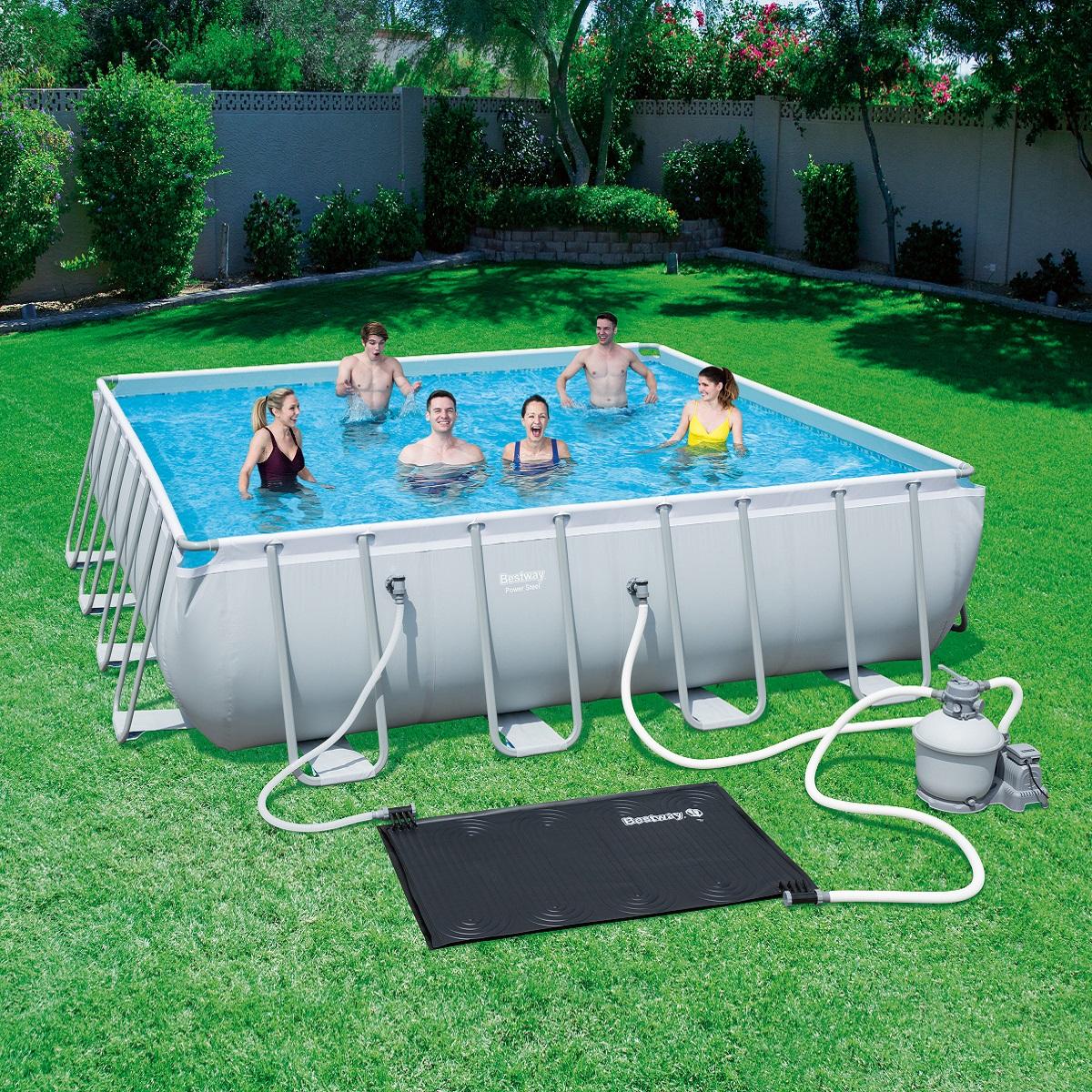 Solární bazénový ohřev vody BESTWAY
