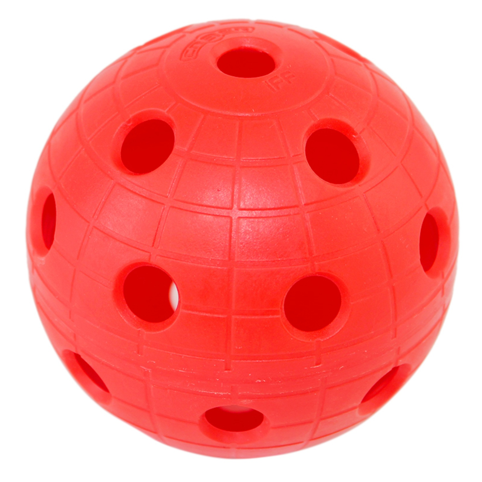 Florbalový míček UNIHOC CR8TER červený