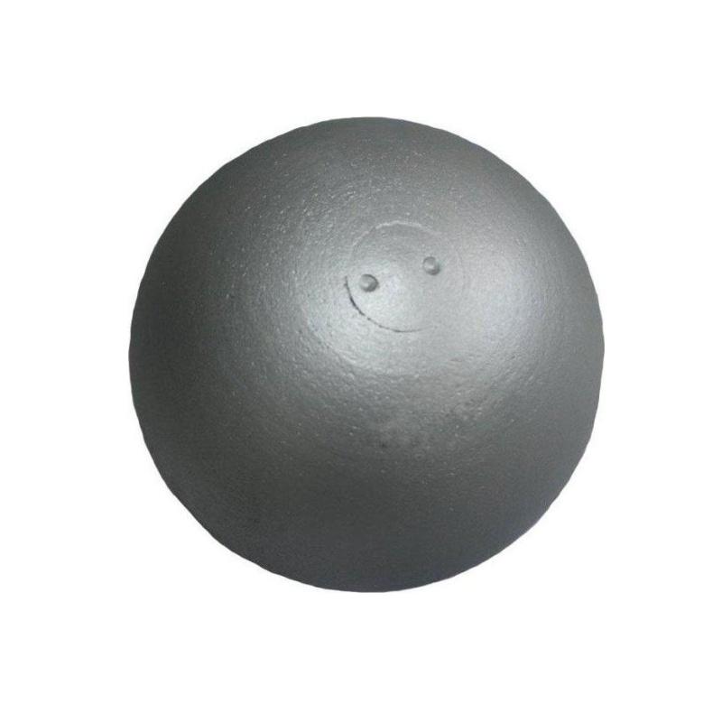 Koule atletická SEDCO Training 4 kg dovažovaná litá - stříbrná