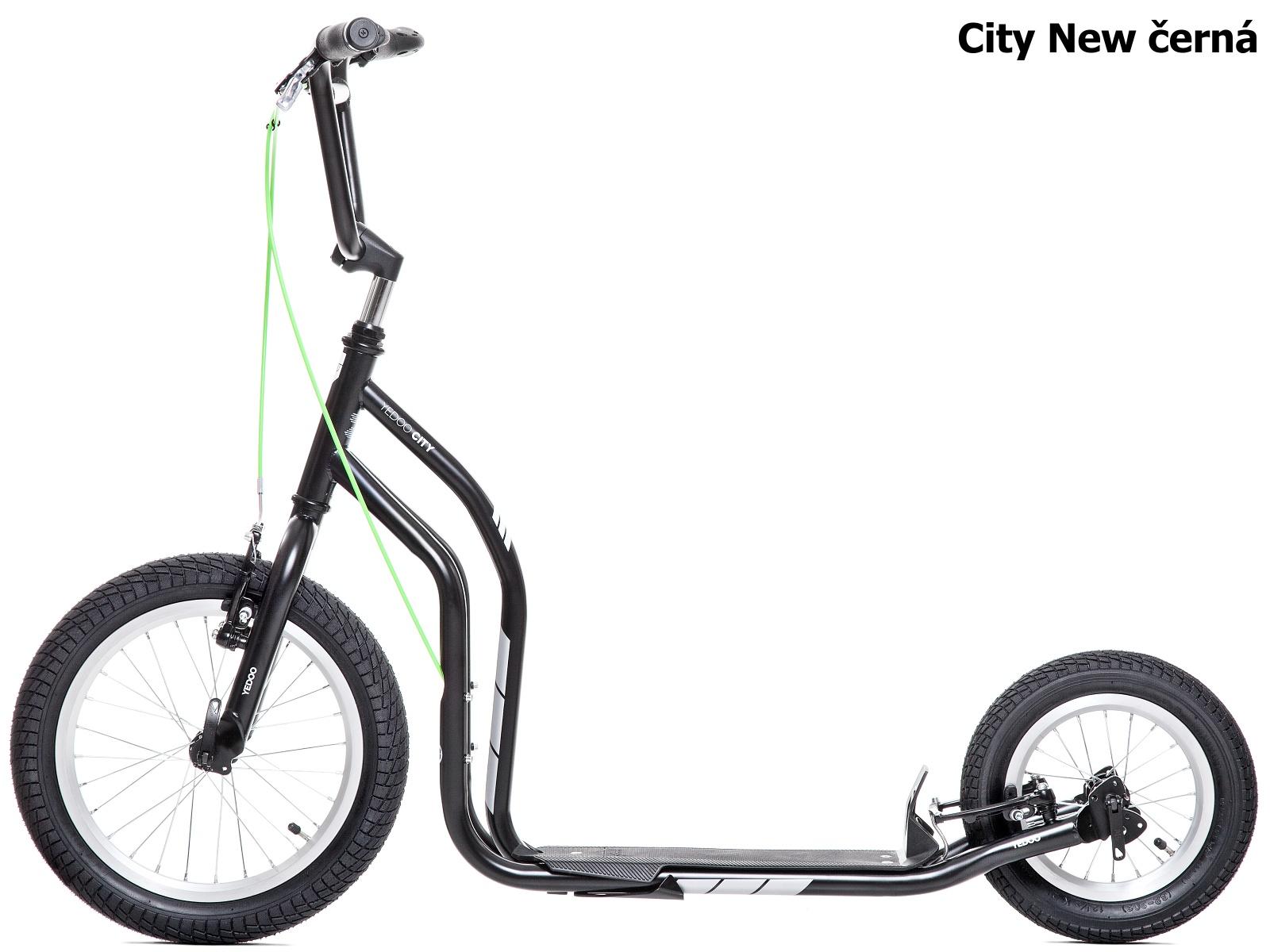 Koloběžka YEDOO City New 16-12 černá