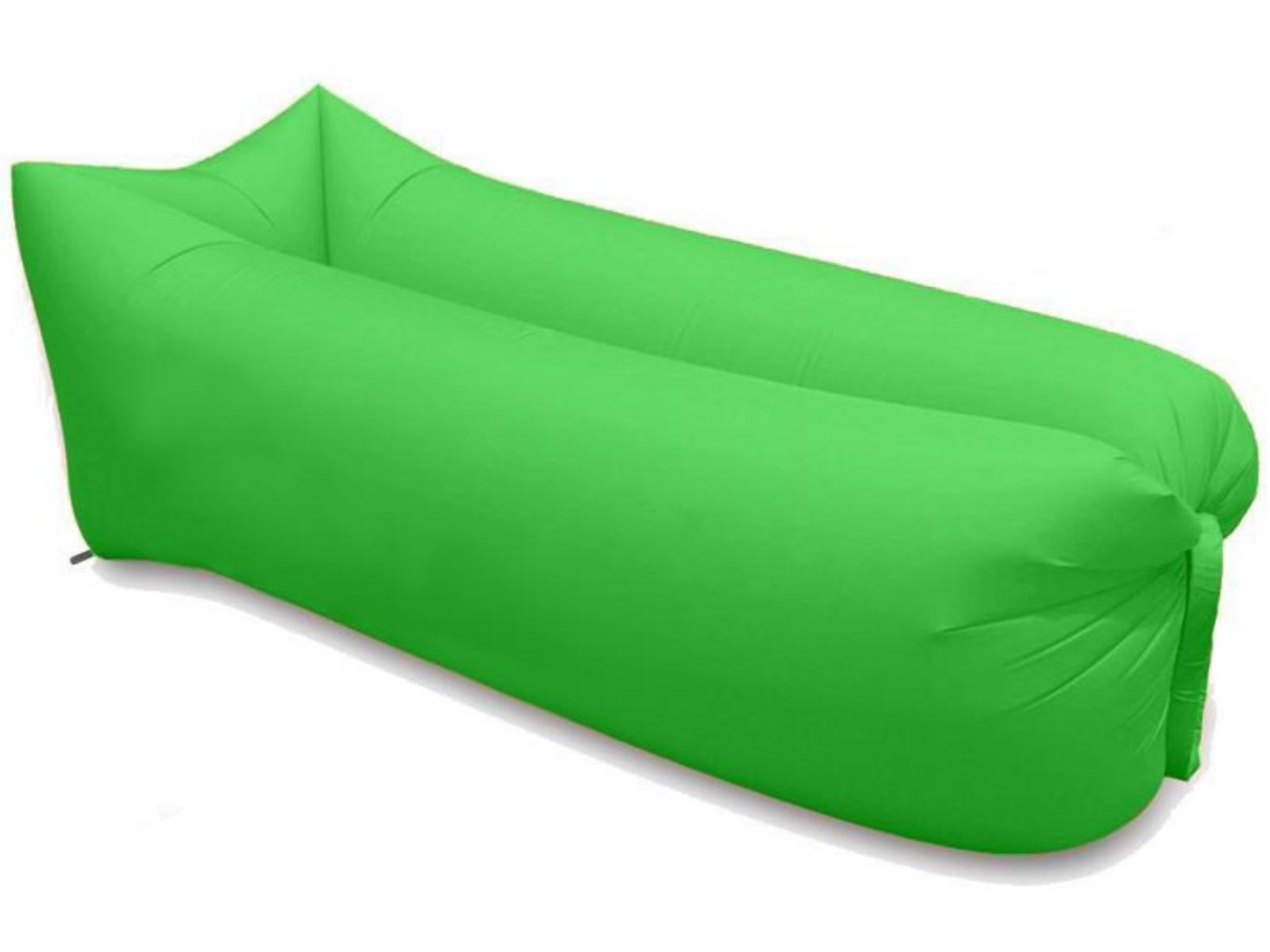 Nafukovací vak SEDCO Sofair Pillow Shape - zelený