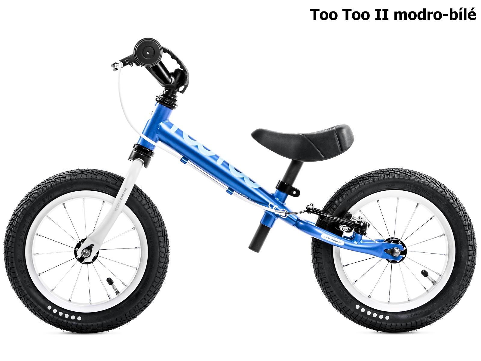 Dětské odrážedlo YEDOO Too Too II. modro-bílé