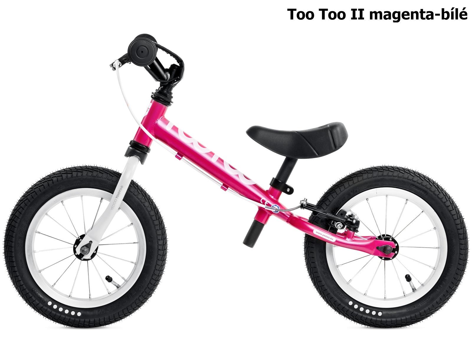 Dětské odrážedlo YEDOO Too Too II. magenta-bílé