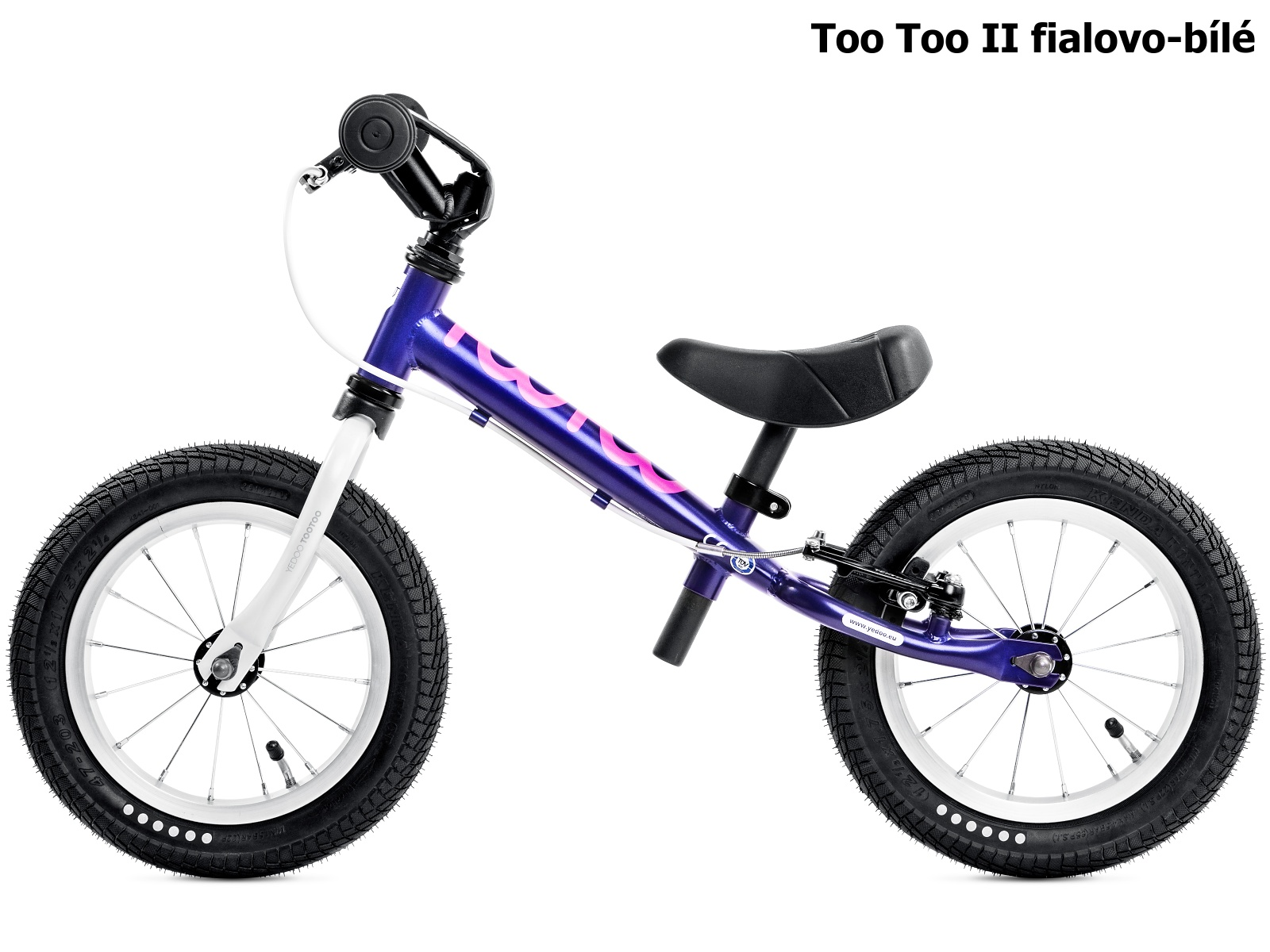Dětské odrážedlo YEDOO Too Too II. fialovo-bílé