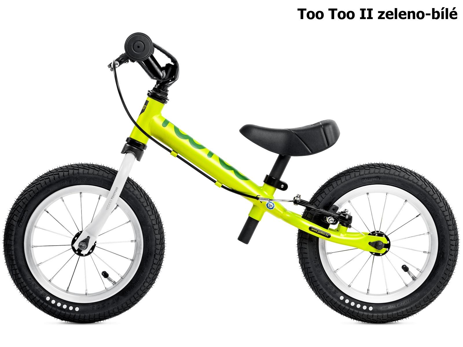 Dětské odrážedlo YEDOO Too Too II. zeleno-bílé